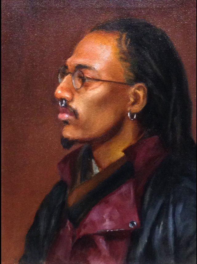 Davin 10x14 Oil on canvas