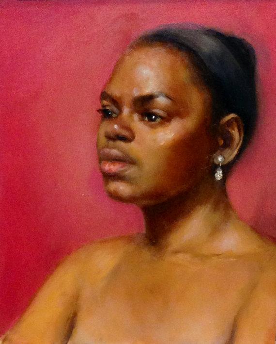 Portrait 8x10 Oil on board