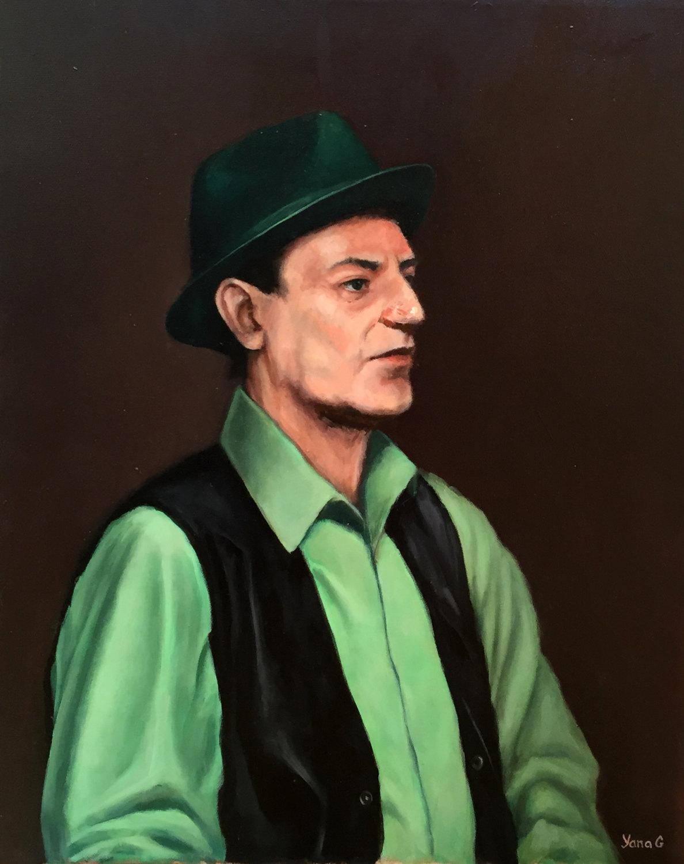 John 16x20 Oil on canvas