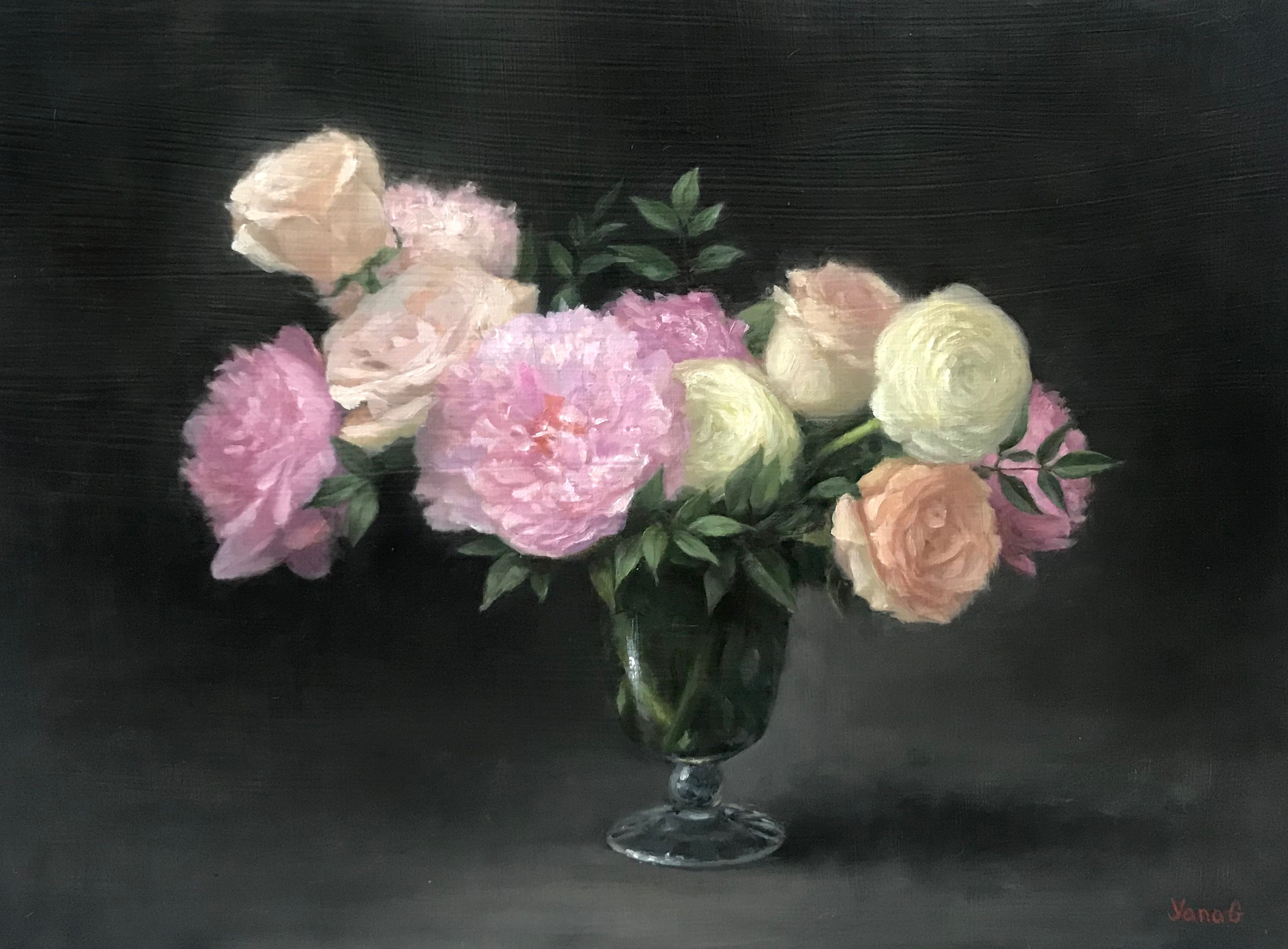 Floral Still Life 12x16