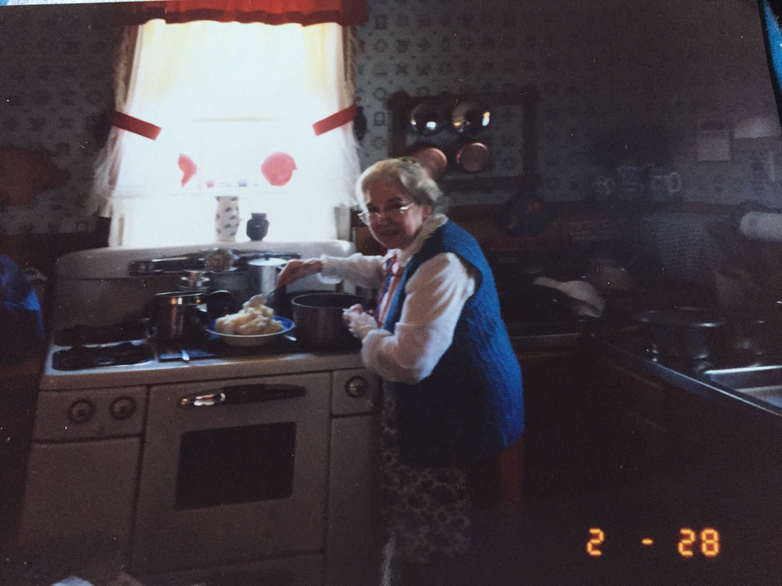 My Grandma Lois - That stove is still in operation. My dad lives there now.