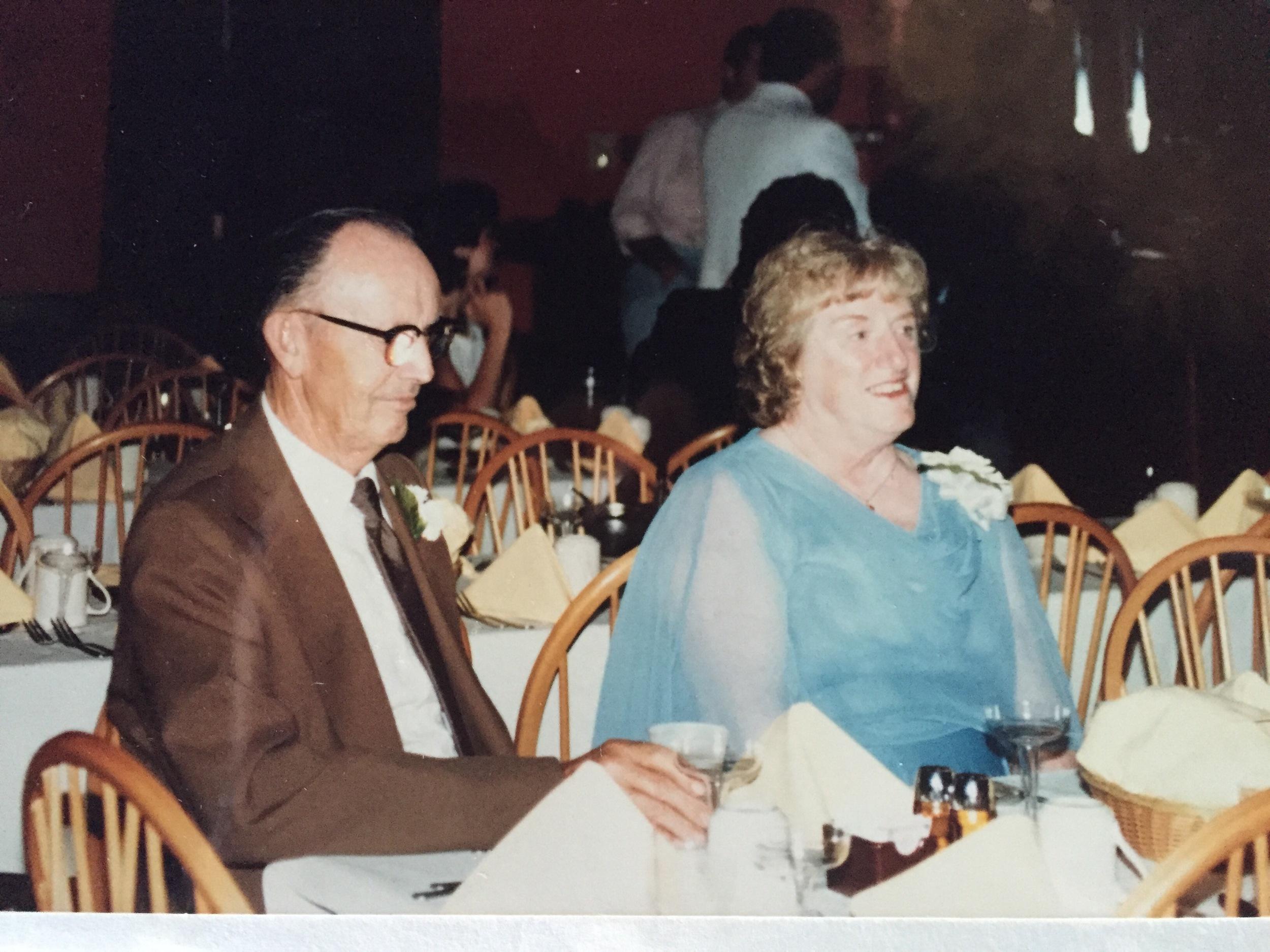 My other set of Grandparents: Willard and Bernadine