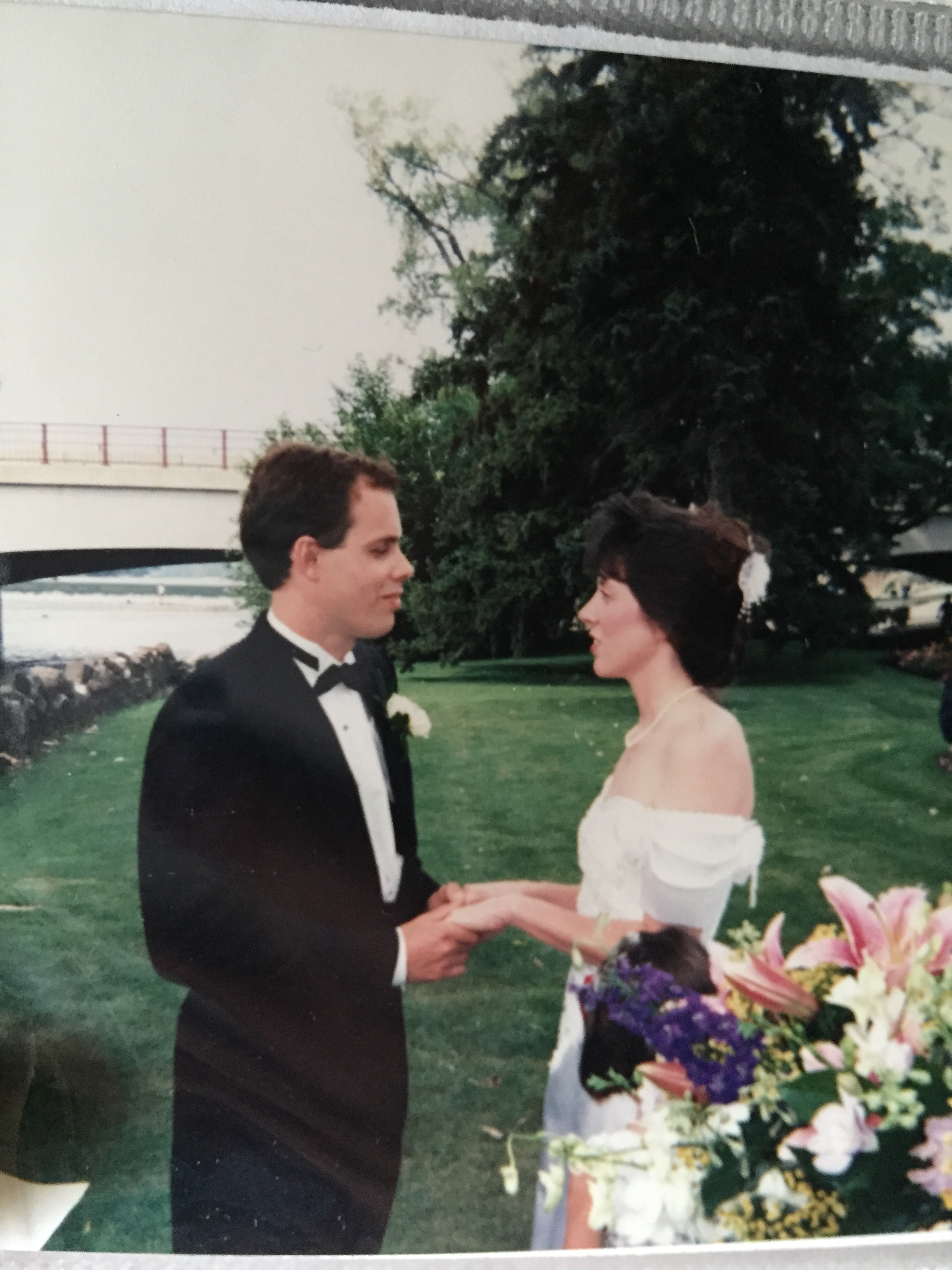 Our wedding day. August 27, 1994 - 22 years ago
