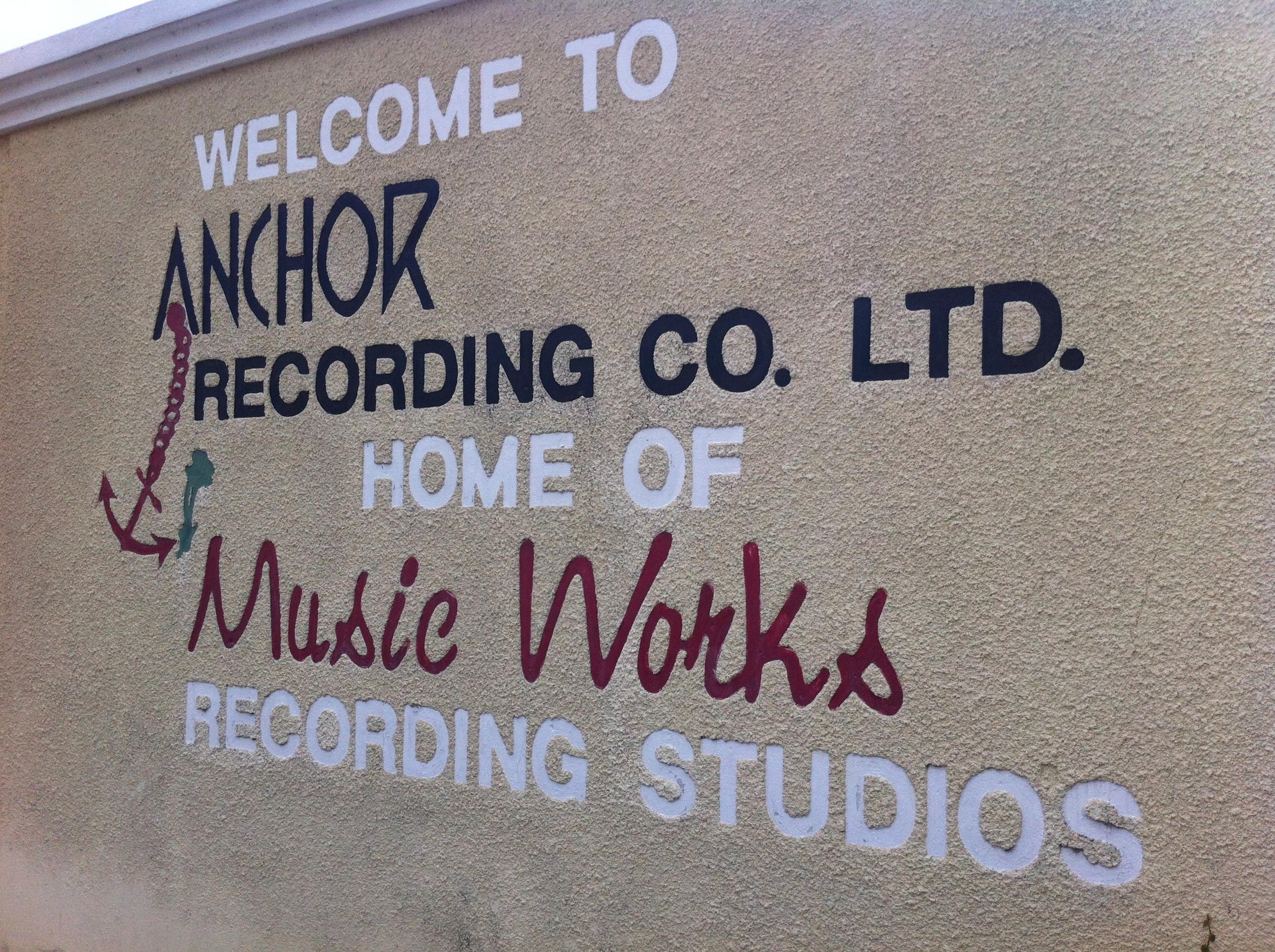 Anchor Studio, Kingston, Jamaica