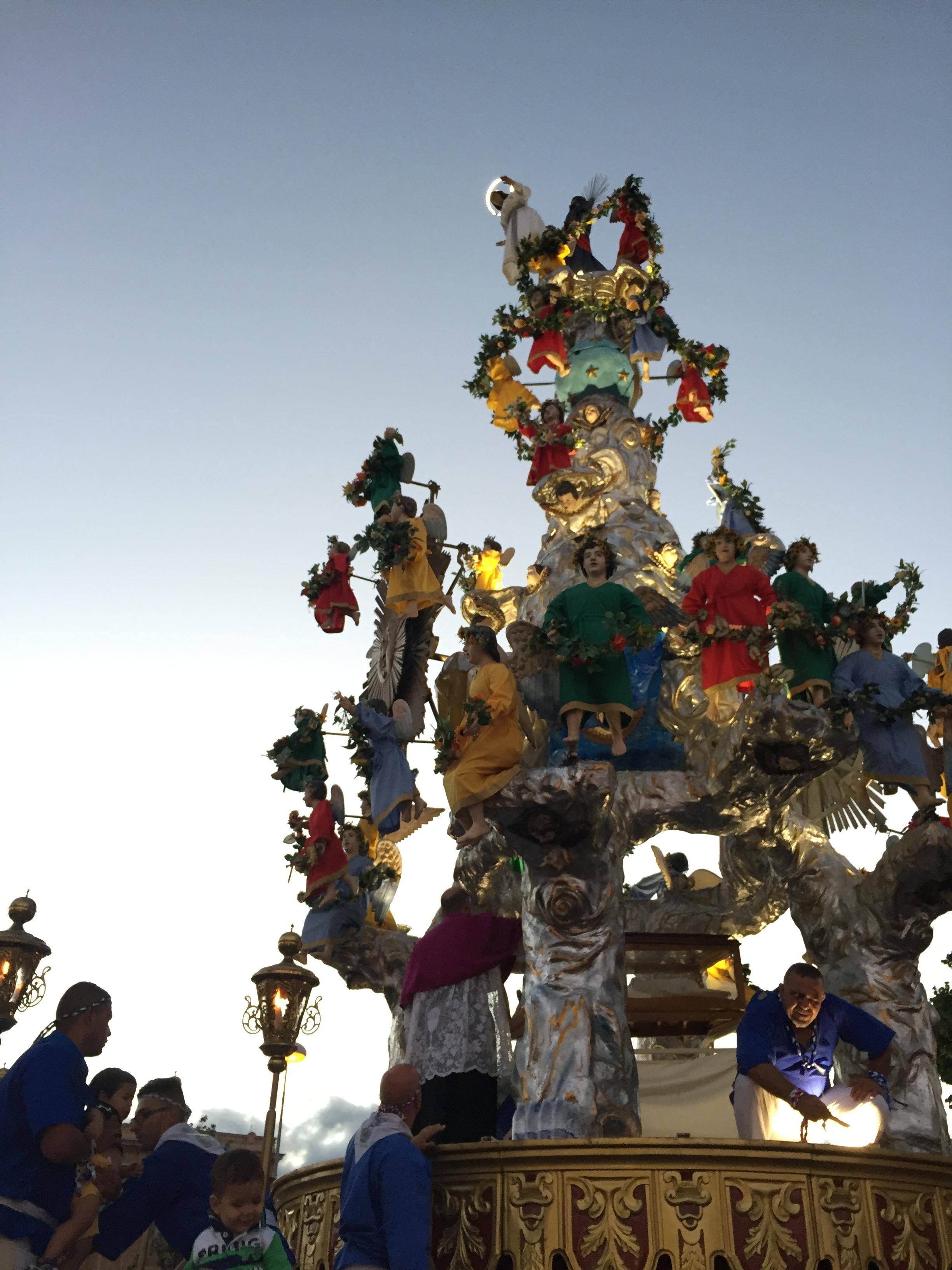 La Vara della Madonna in Messina