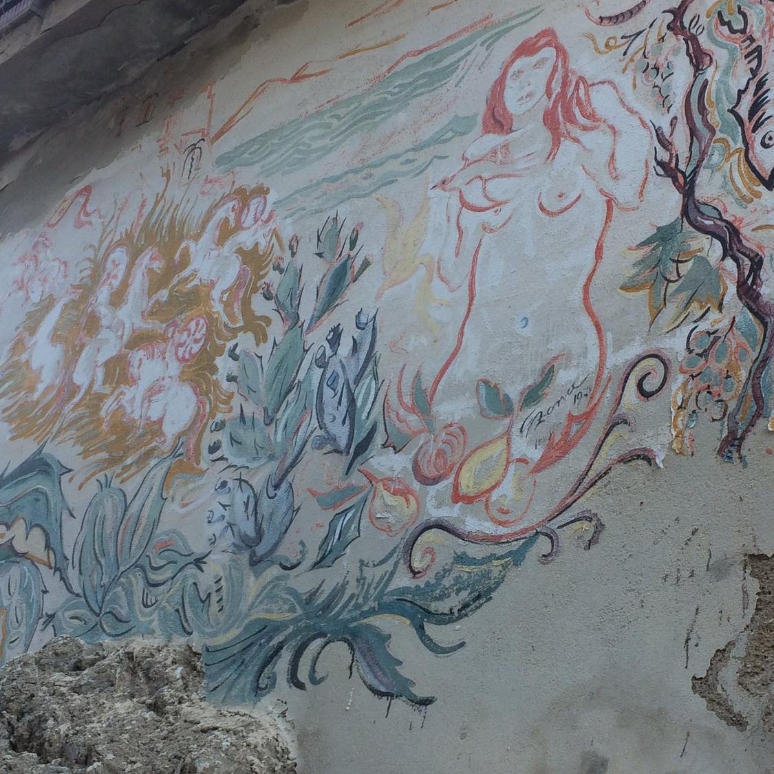 Street art in Scaletta Zanclea