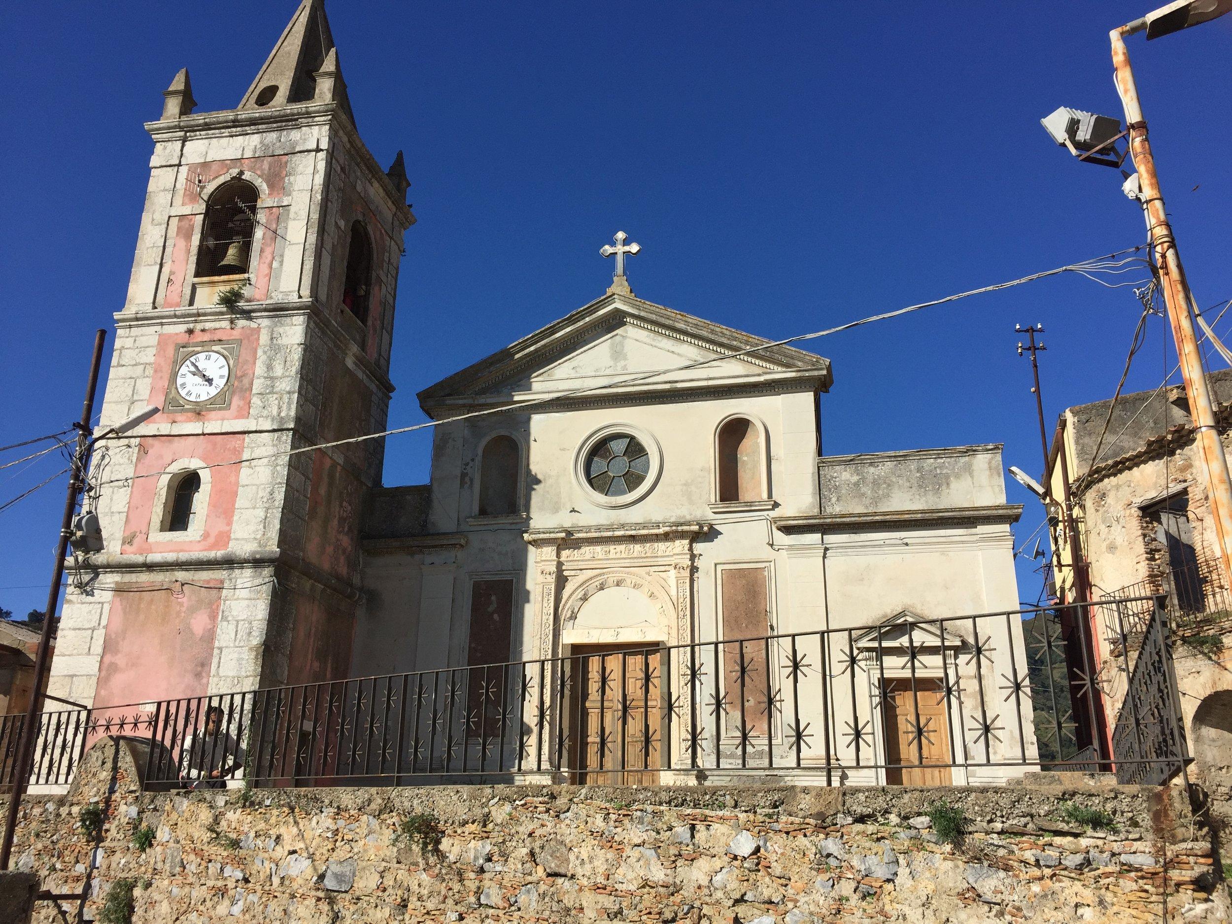 The church of San Nicolò di Bari in Pezzolo