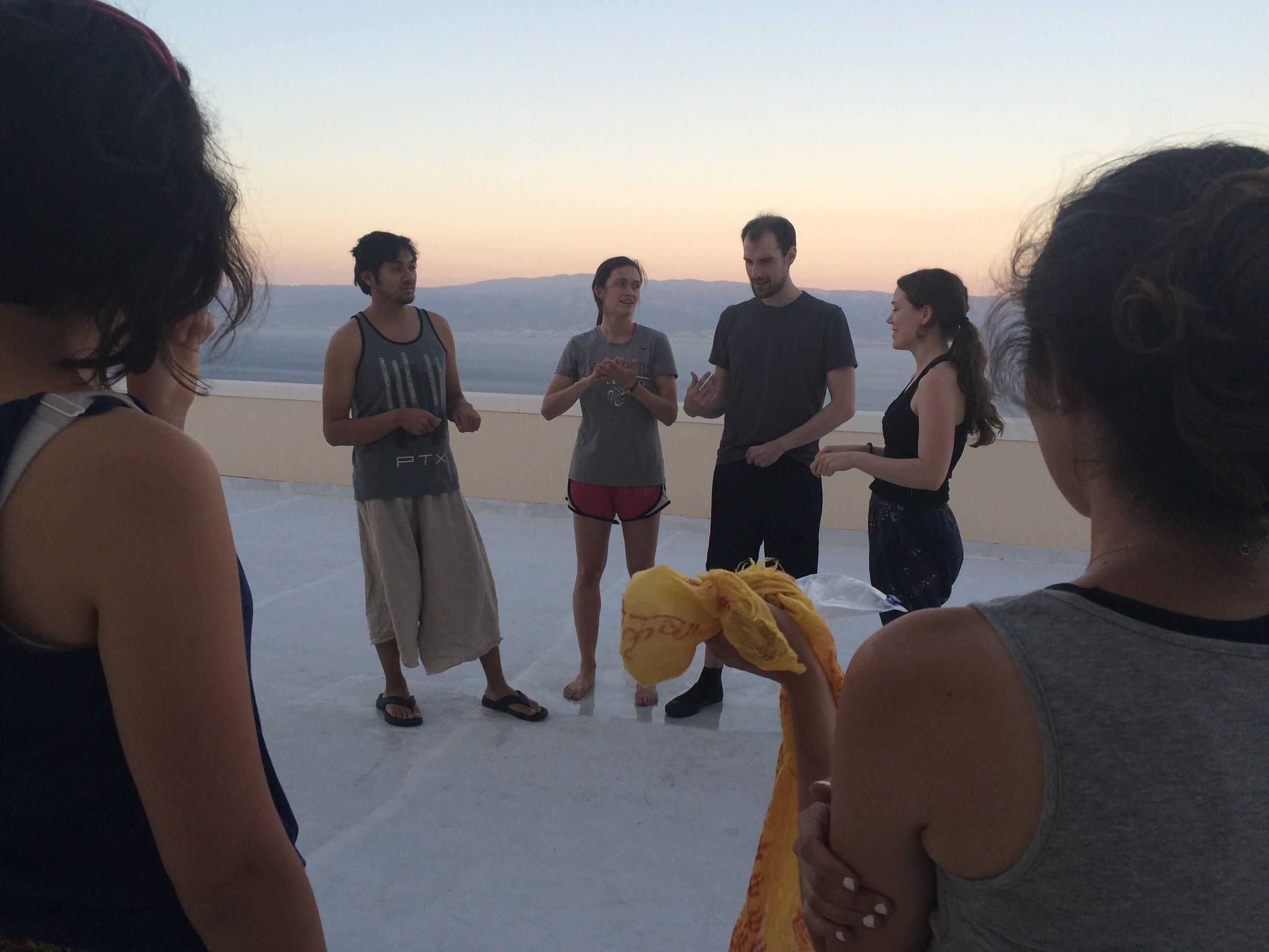 Copy of Rehearsals at San Placido