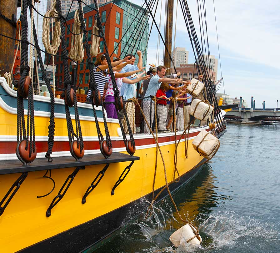 A visit to the historic Boston Tea Party Ships & Museum