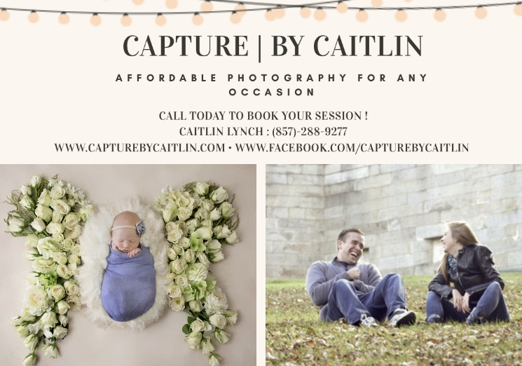 A free photo session with Capture by Caitlin