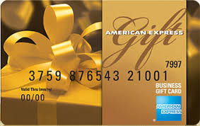 Two American Express gift cards, courtesy of Carmela La Fauci