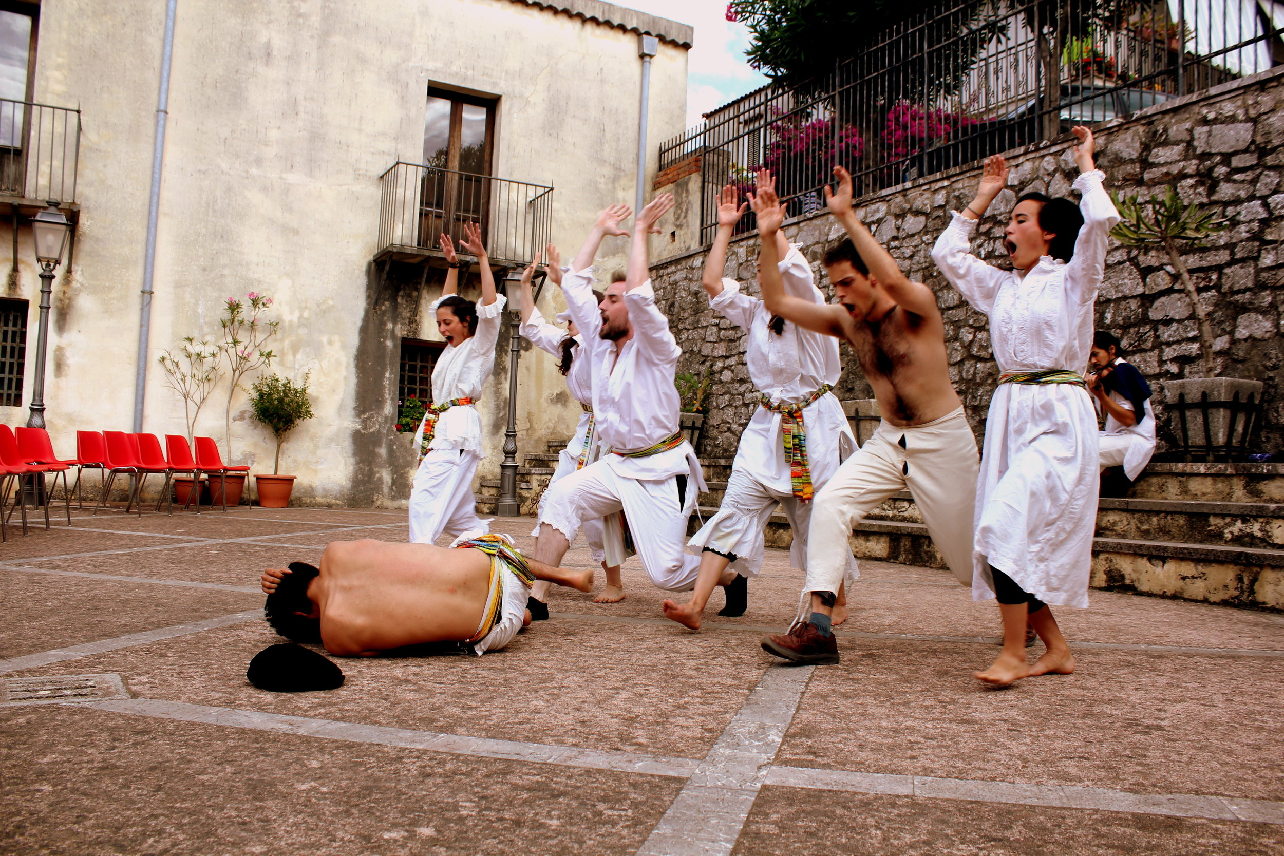 - A truly beautiful piece of devised theatre, ethically created by collaborating Sicilian locals, that will take your breath away...an incredible production.