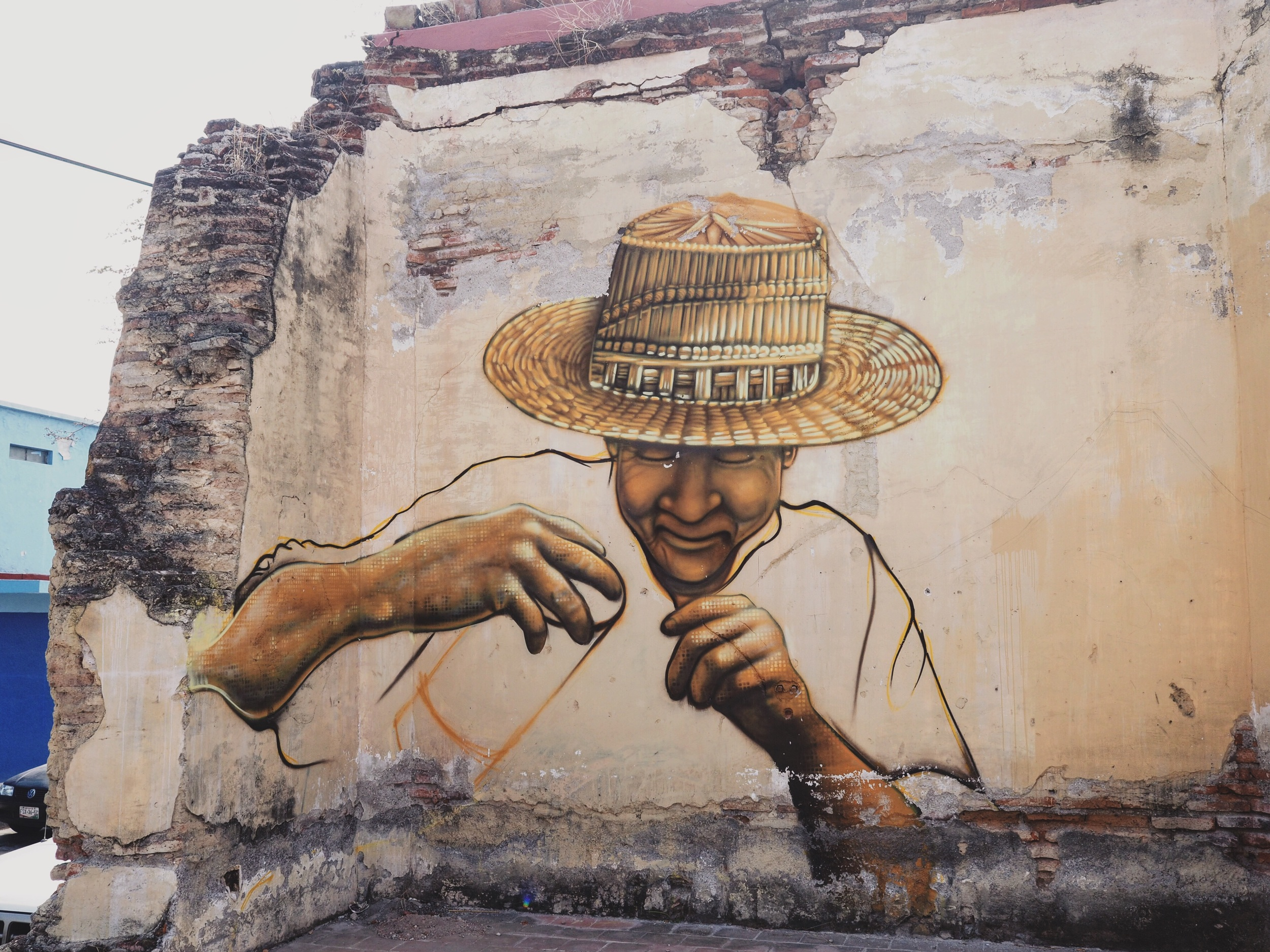 Allusions to history in street art