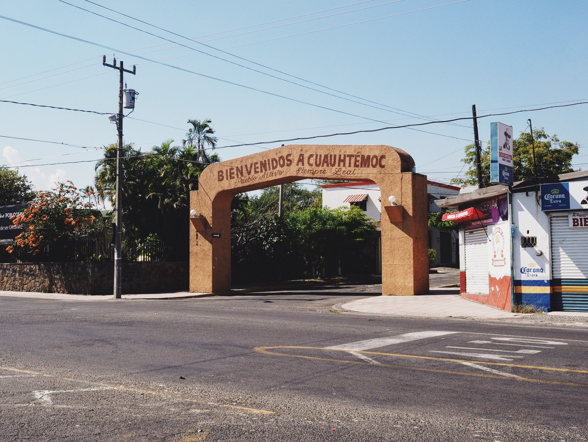 Passing through the small town of Cuauhtemoc