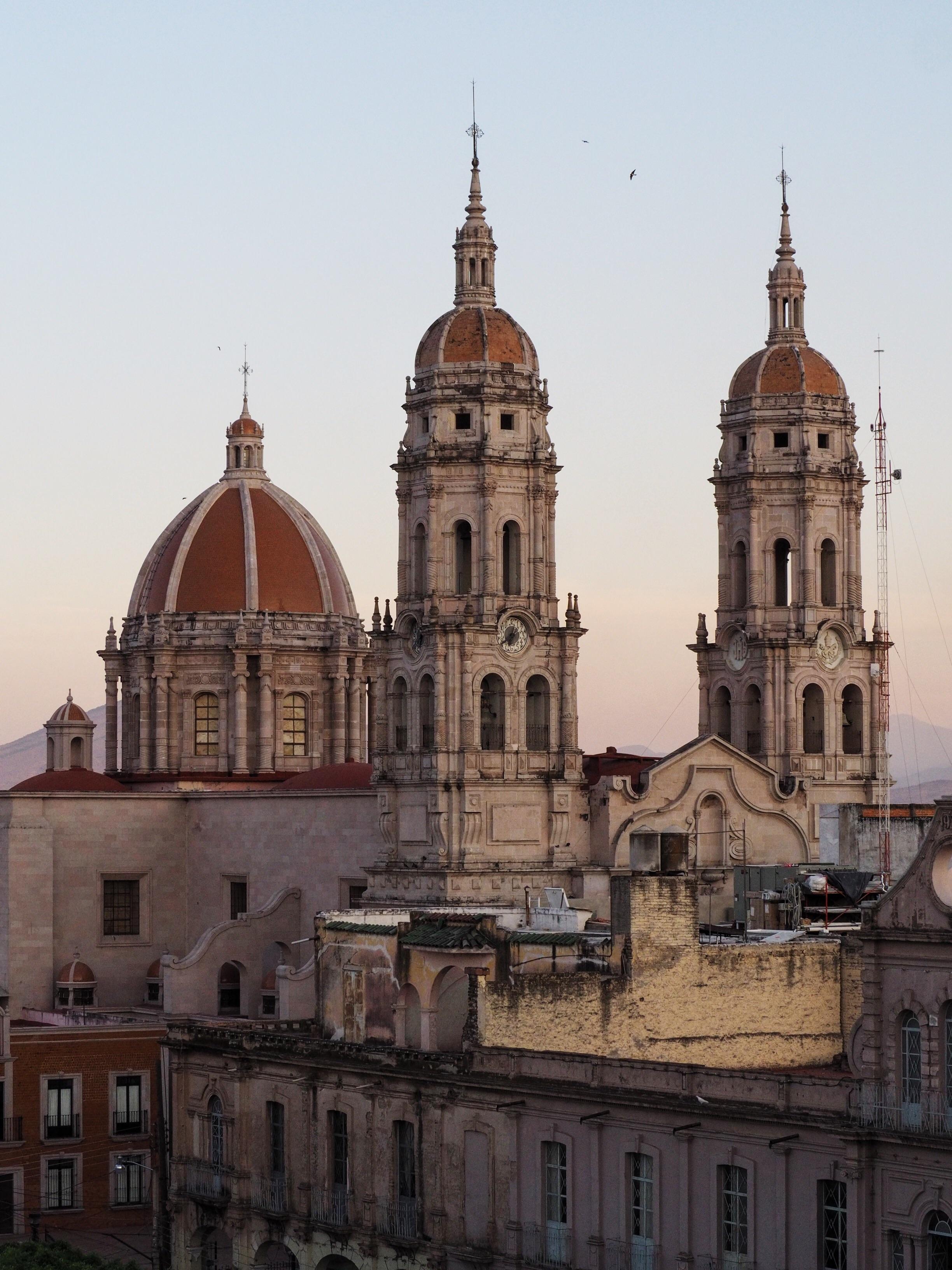 Catedral en Sahuayo de Morelos