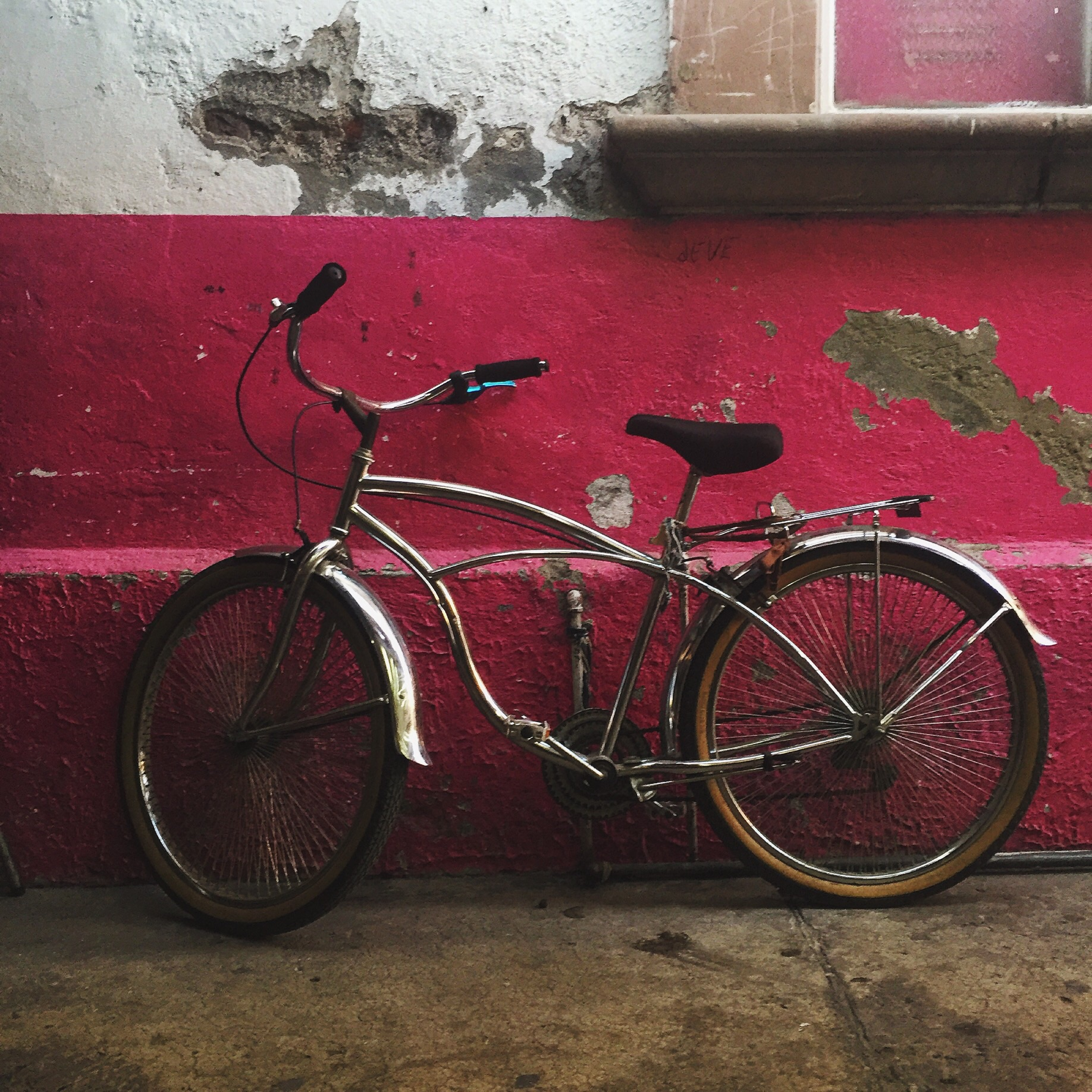 Sweet vintage bike in Sahuayo de Morelos