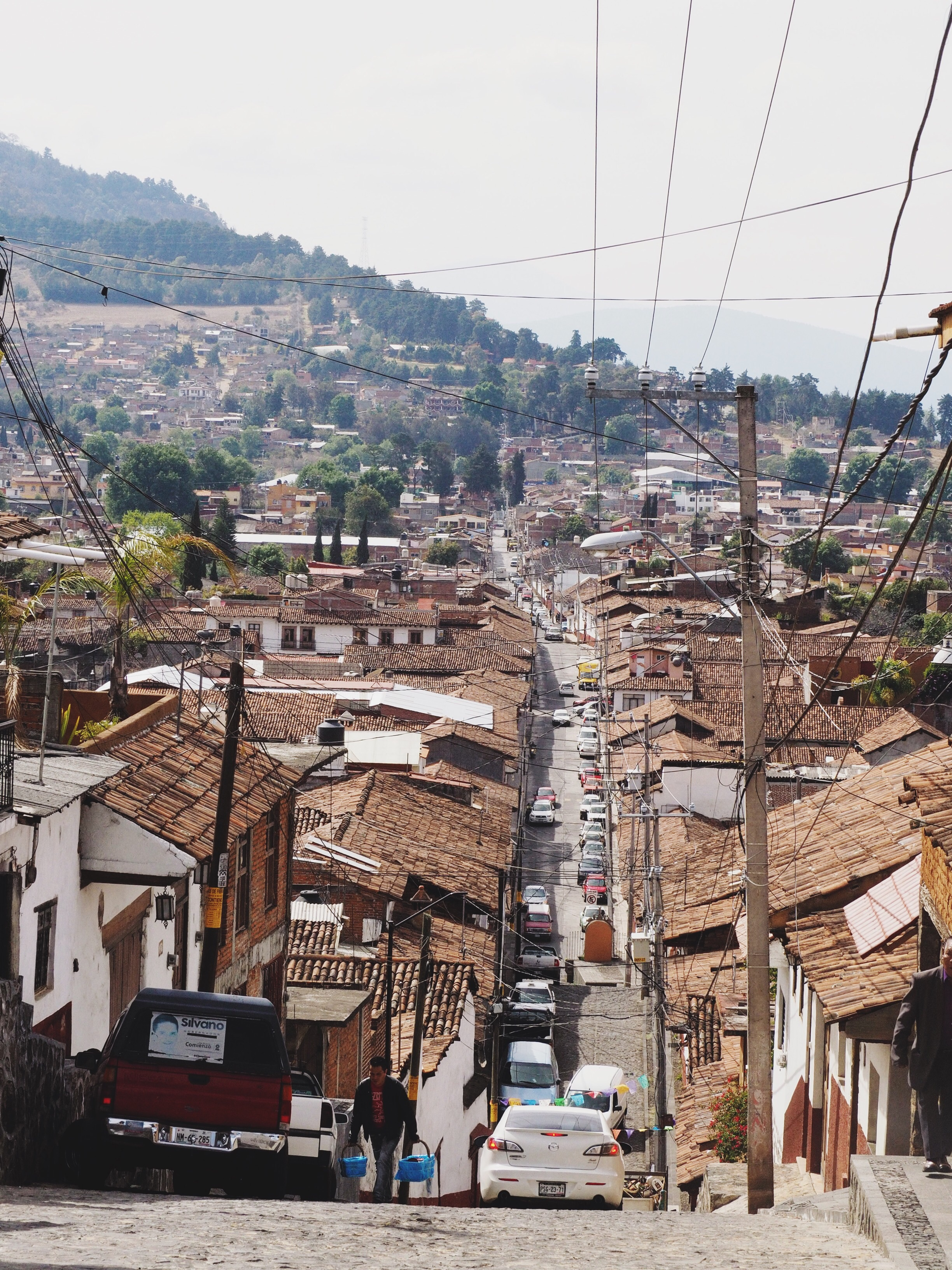 Pátzcuaro – very hilly and fun to cycle around!