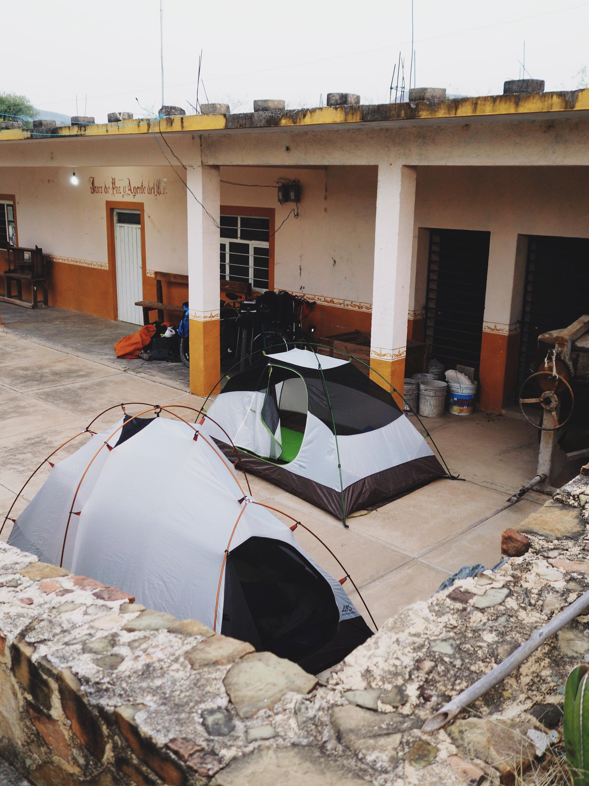 Camping in Santa Cruz Nuevo at the municipality