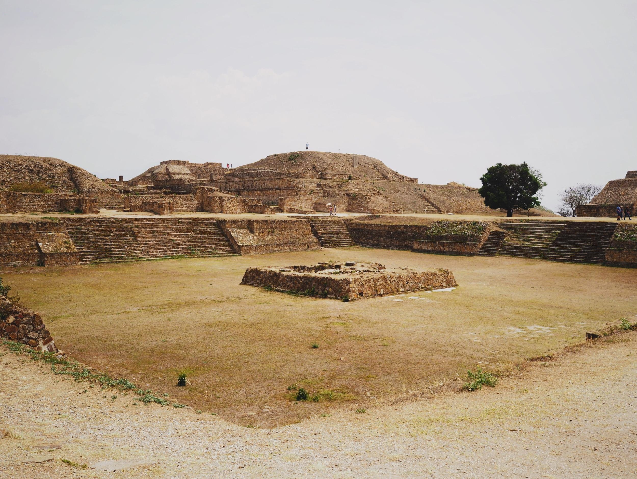 Sprawling ruins