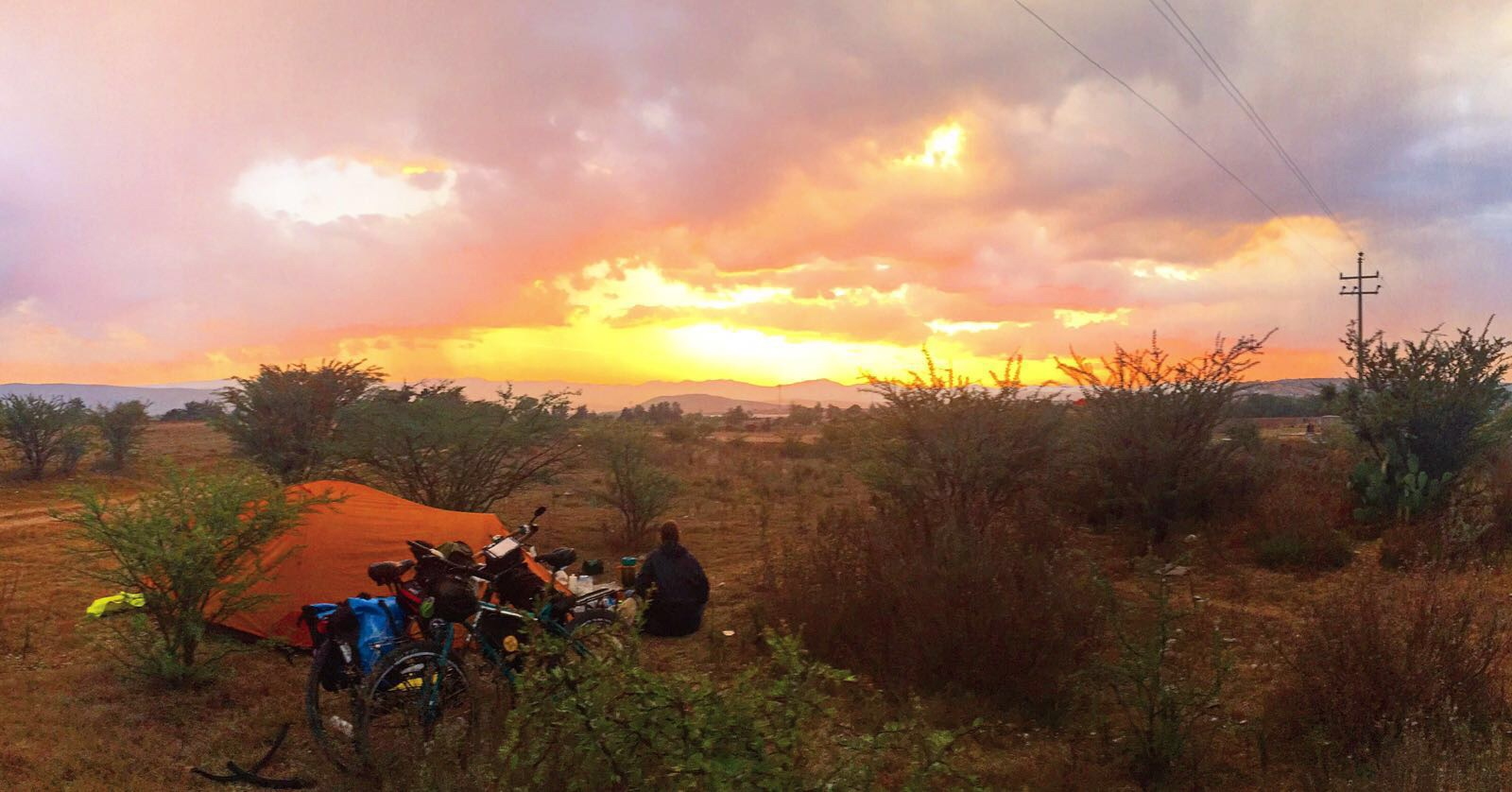 Incredible wild camping in the mountains of Northern Oaxaca