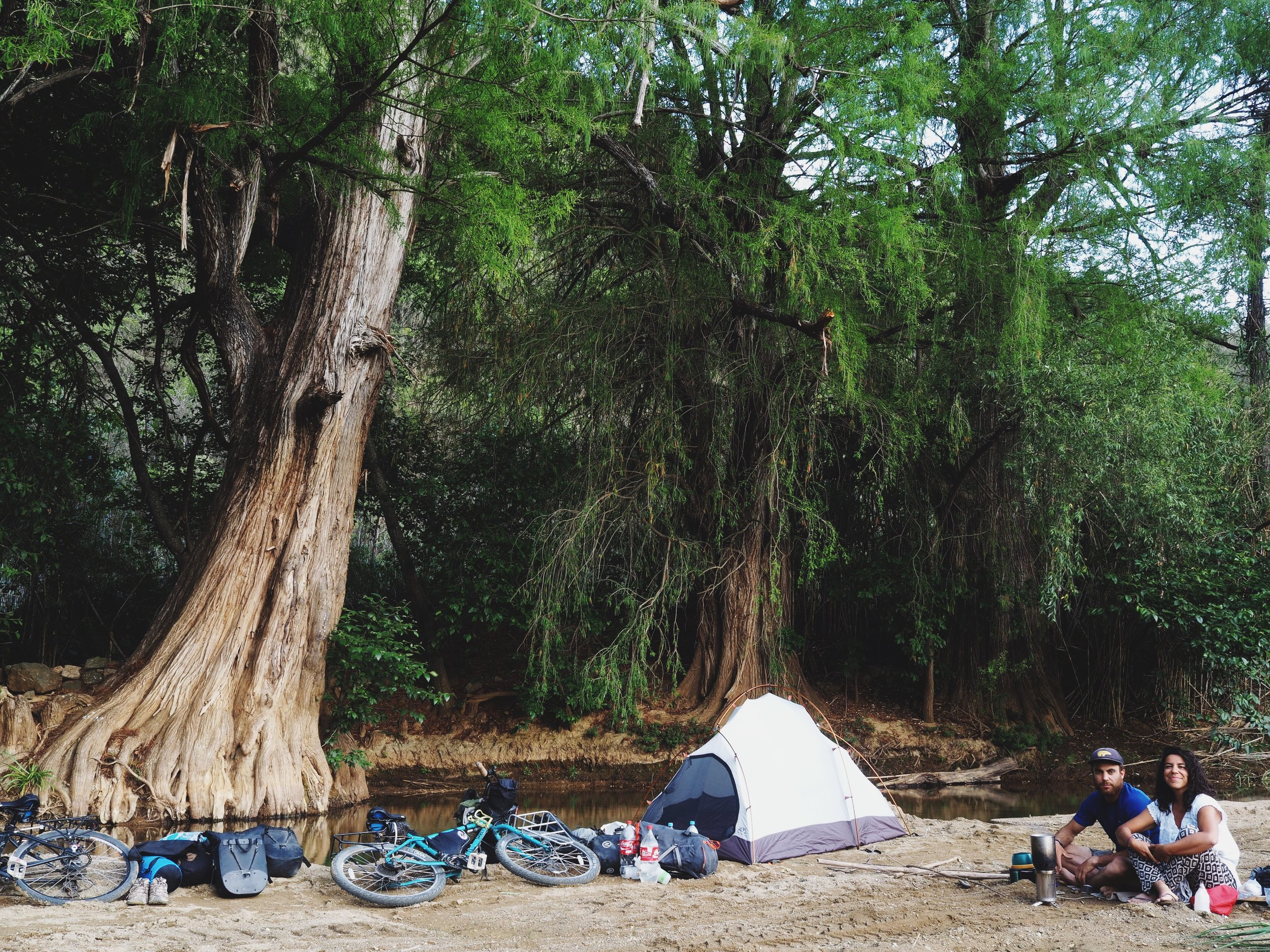 Hands down one of the best campsites to date!