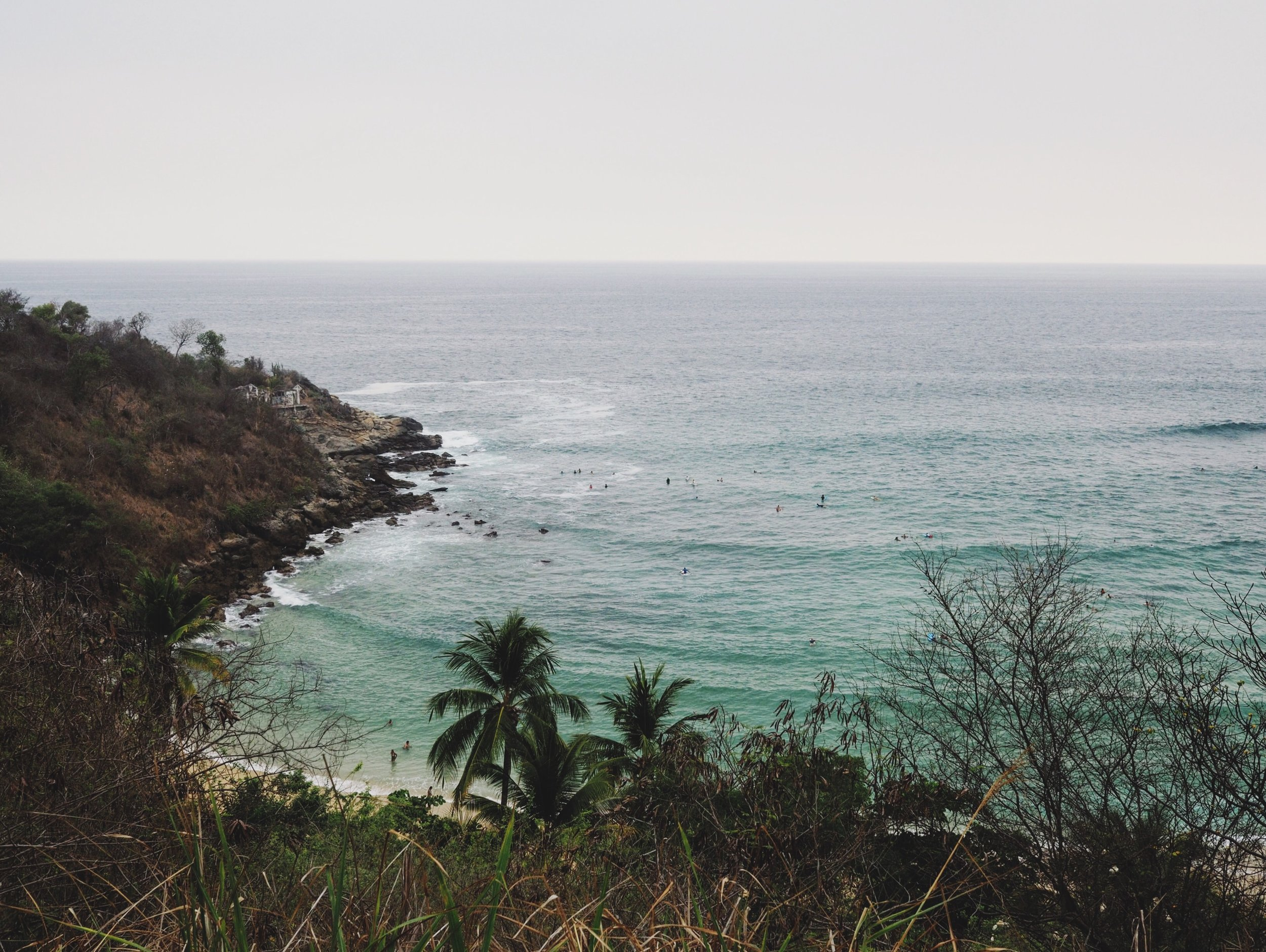 Playa Carrazillo, Puerto Escondido