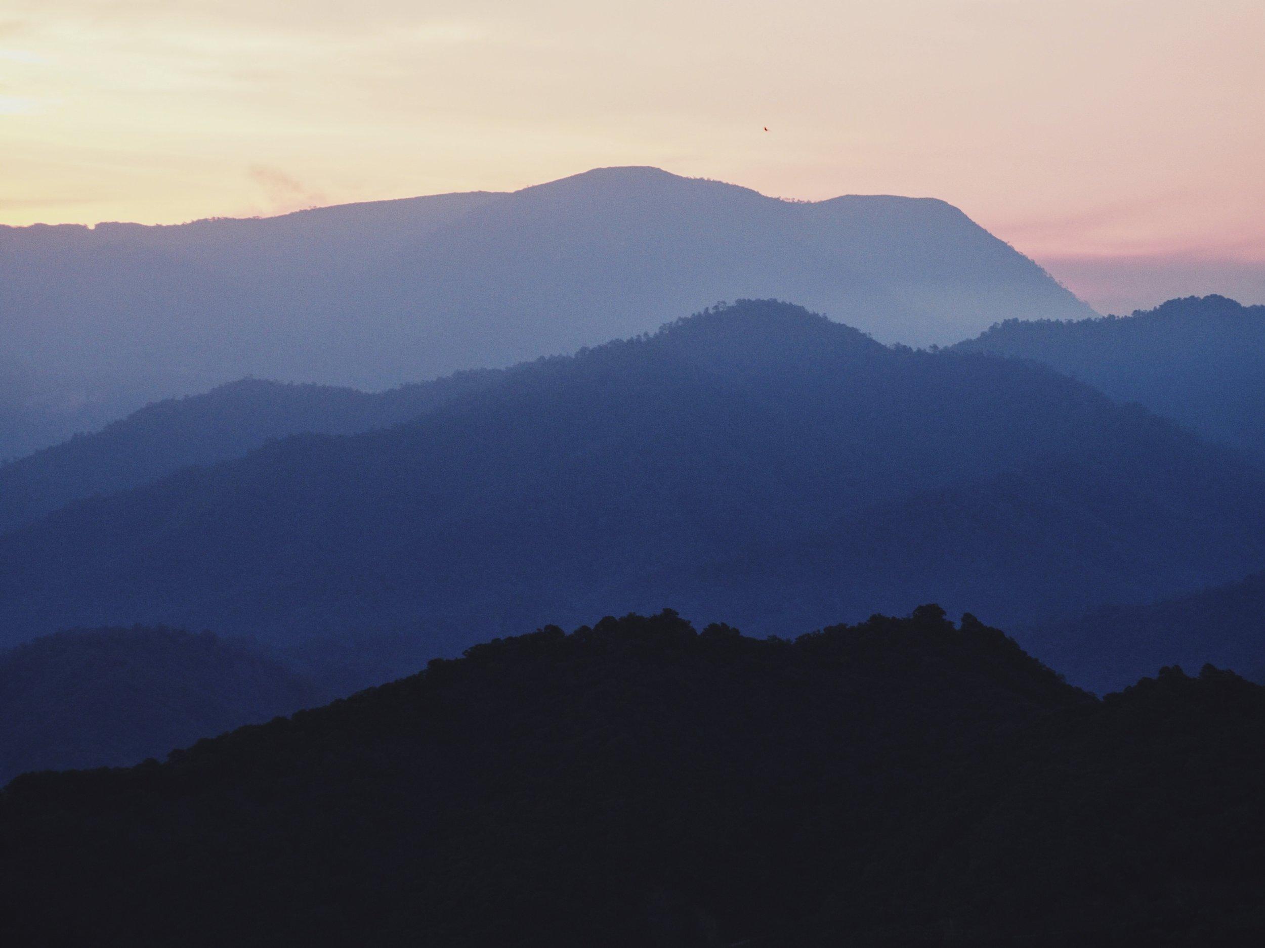 The wild mountains of Oaxaca