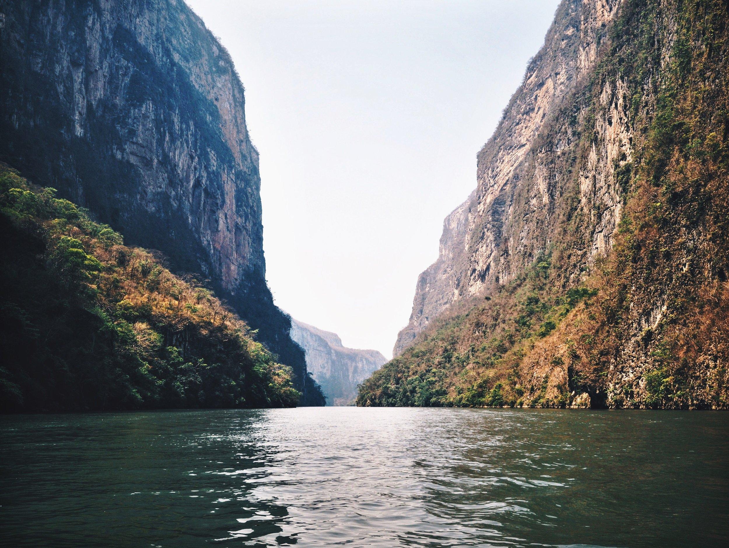 One mile high, Cañon del Sumidero