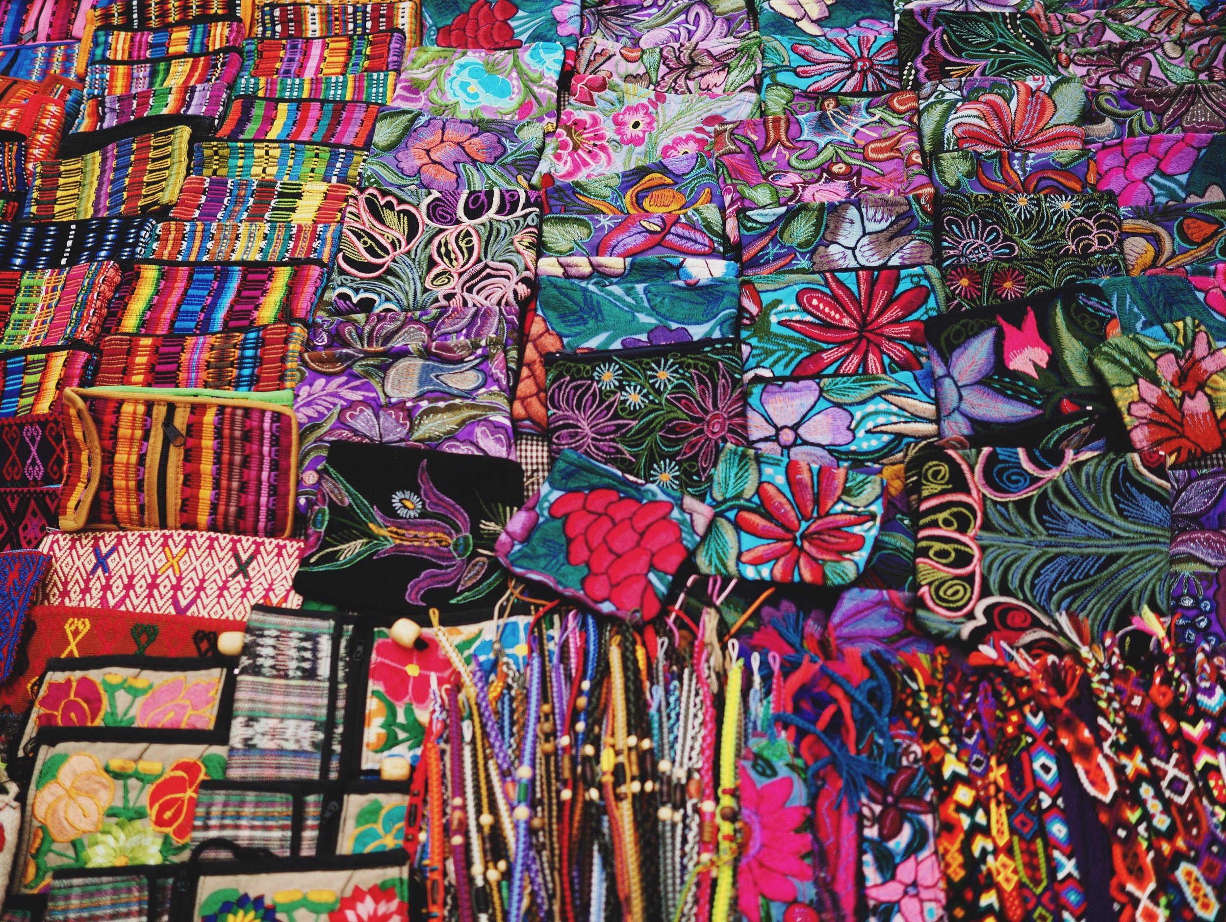 The plethora of artisan work you'll find in Chiapas