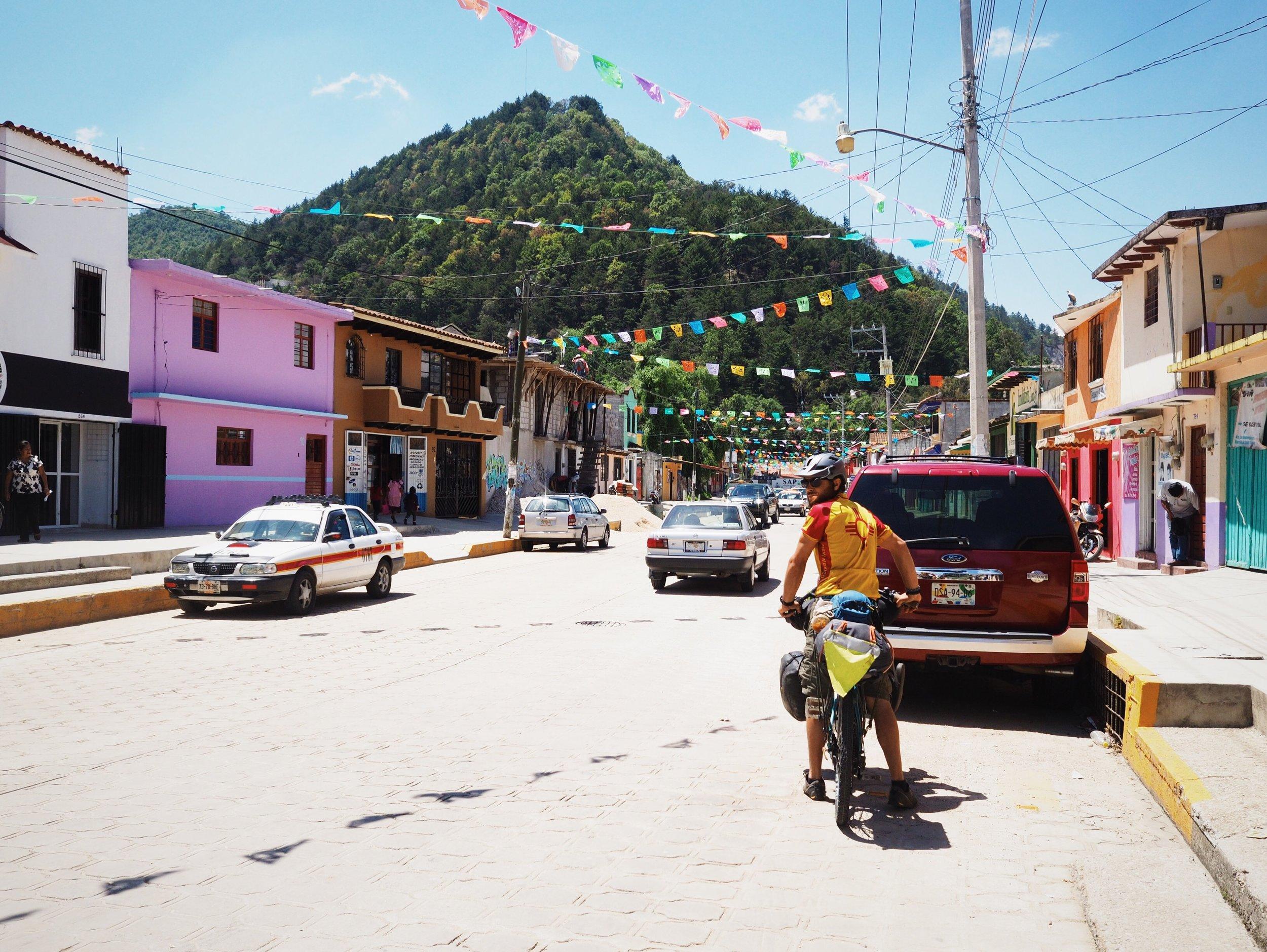 Leaving San Cristóbal