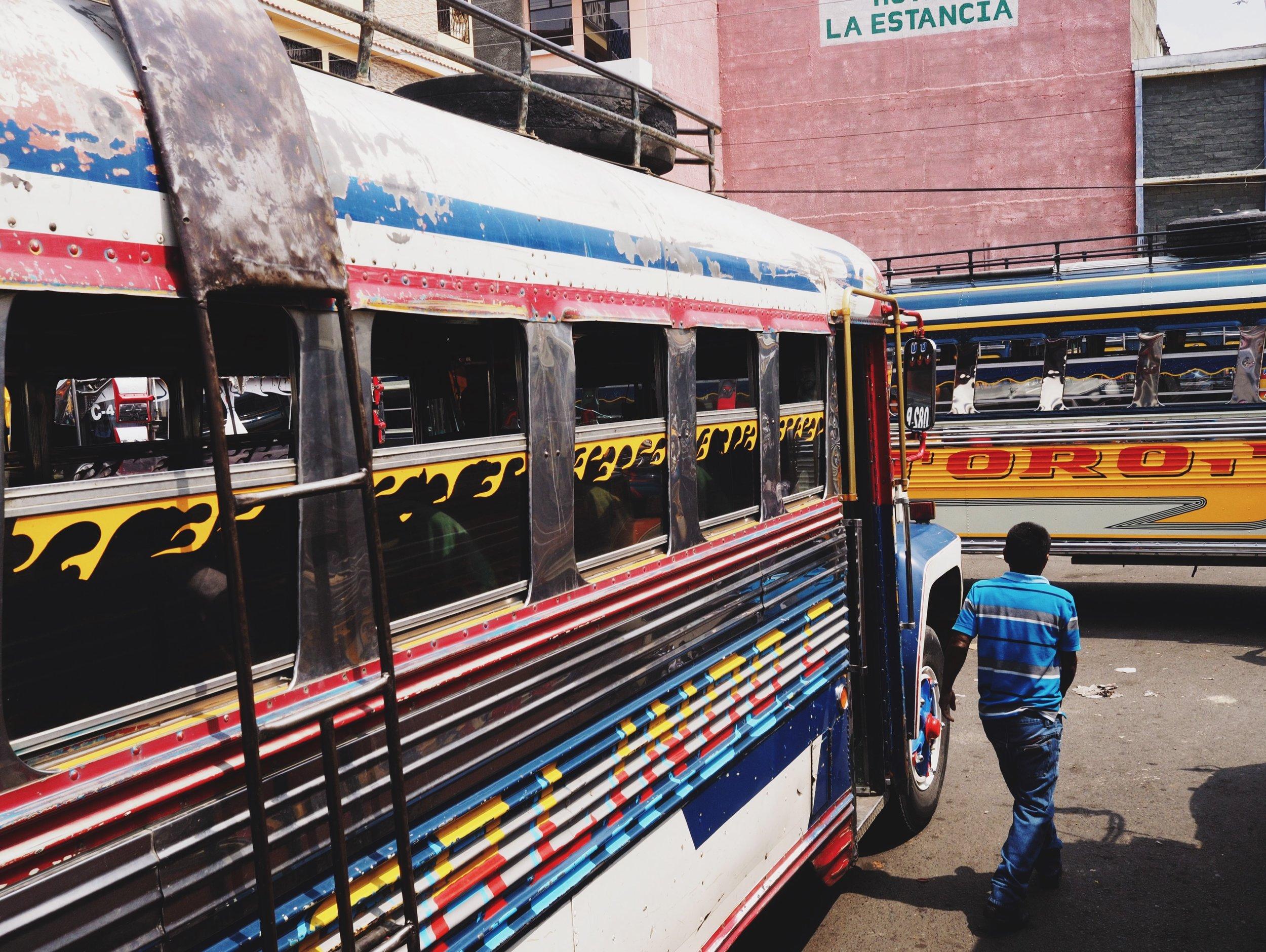 Huehuetenango bus station
