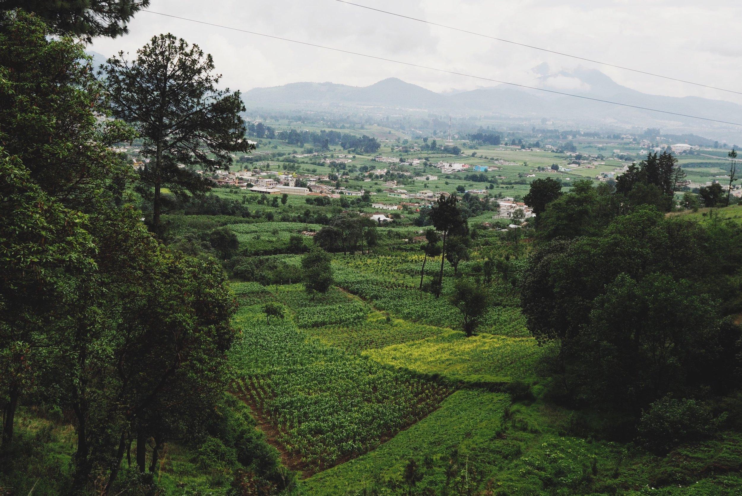 Guatemalan mountain scenery
