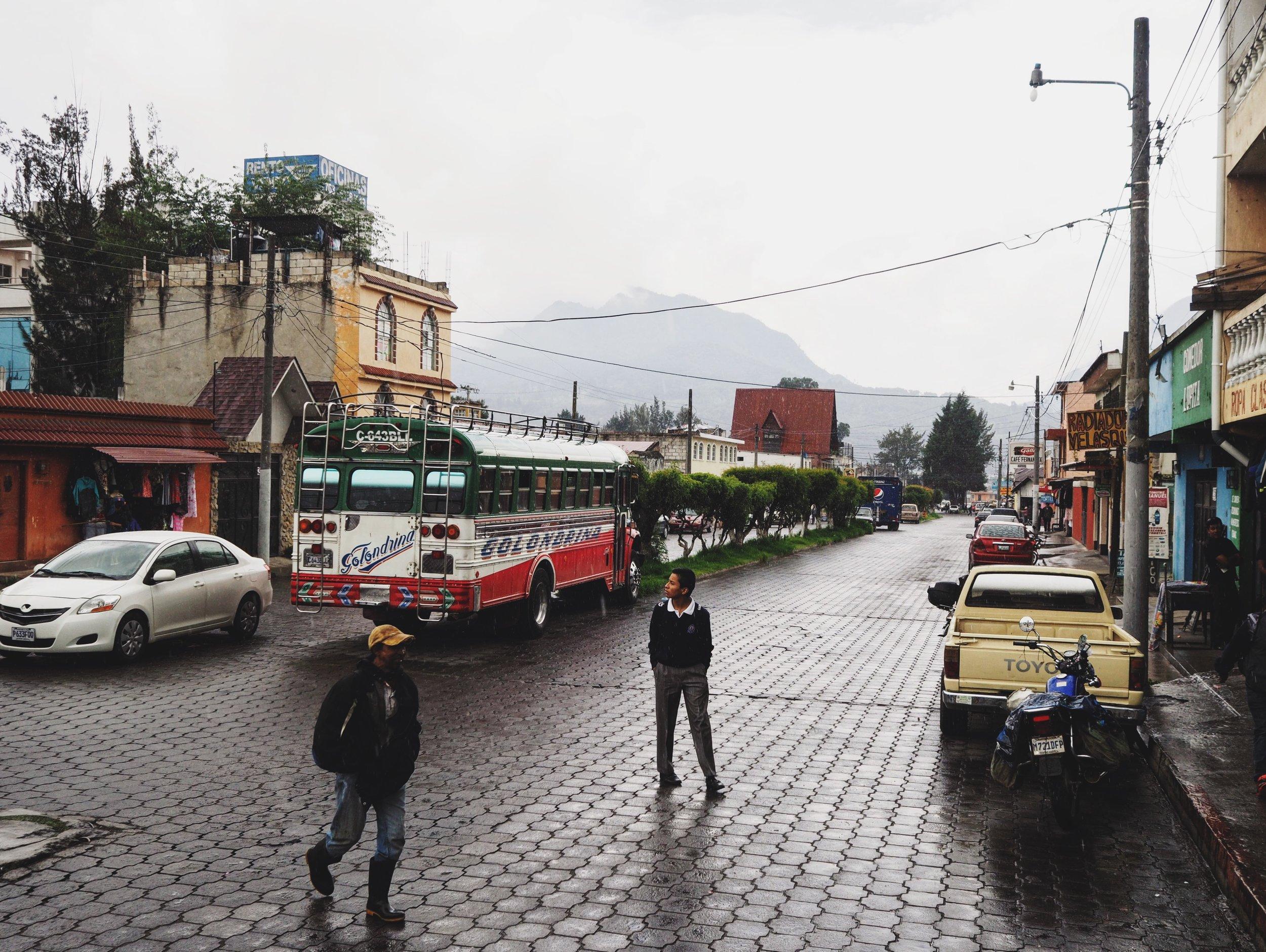 Street scenes in Xela