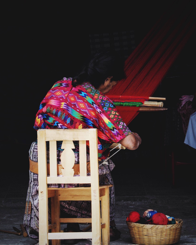 Weaving in Antigua