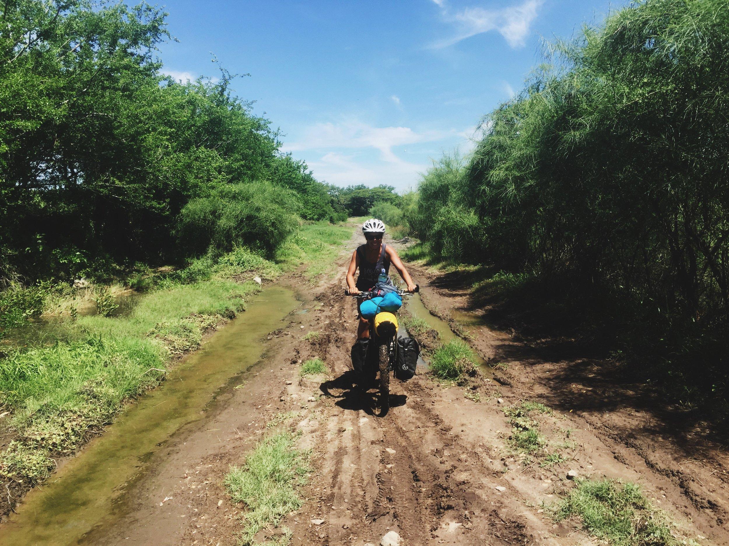 Wild muddy road fun