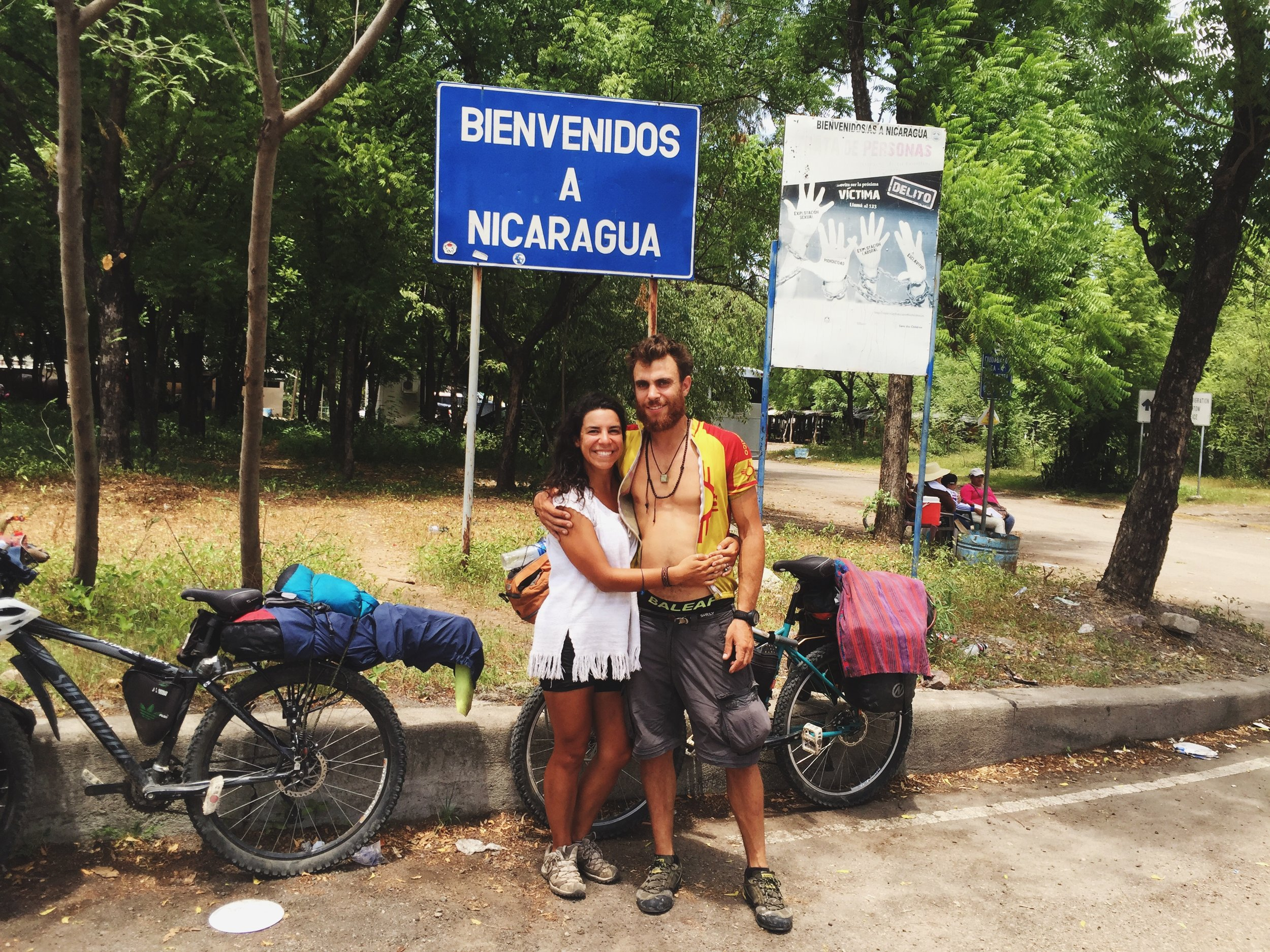 After a short pedal out of Honduras, we crossed the border into Nicaragua on July 25th.