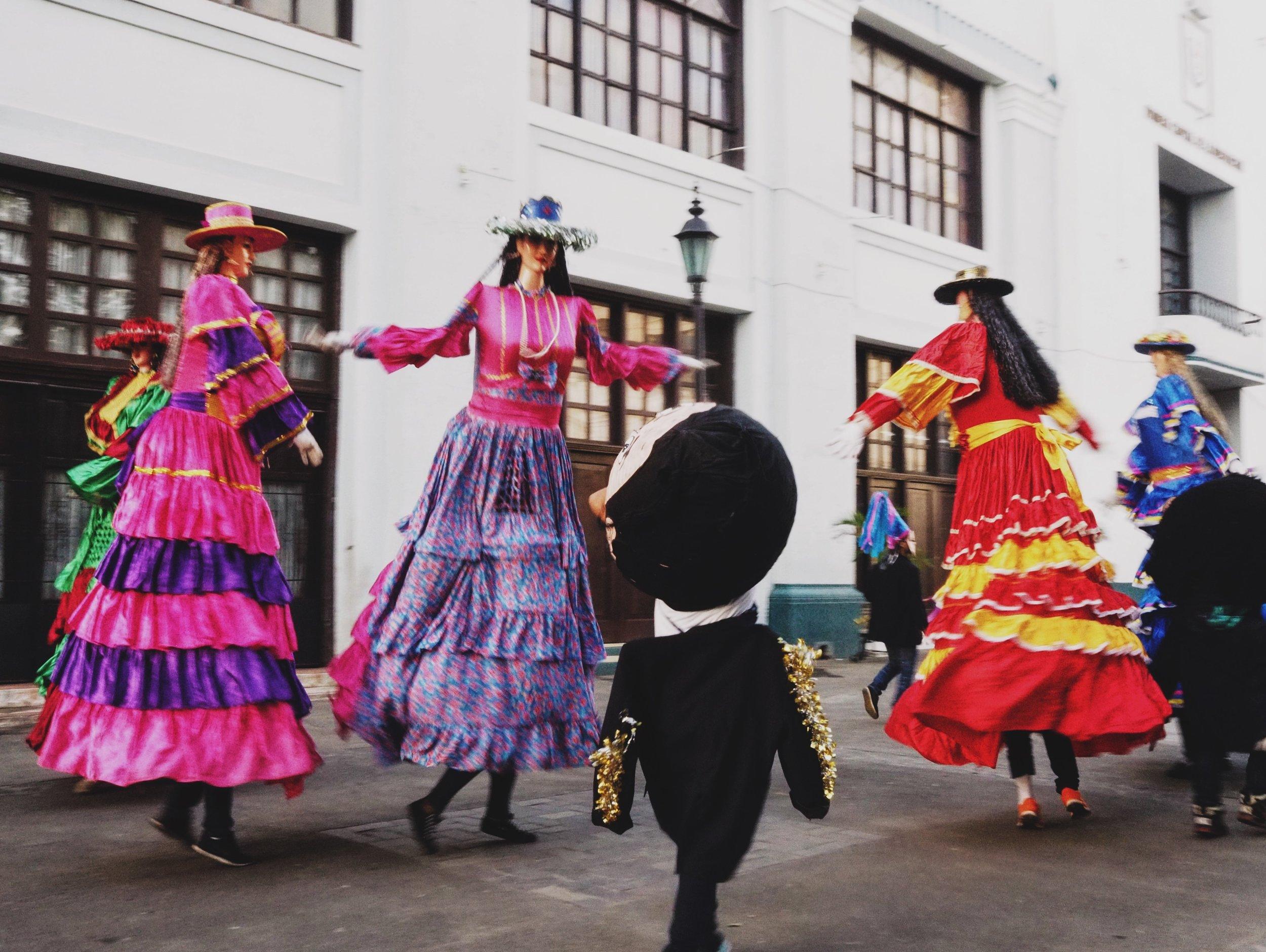 Some of the many cultural festivities in León