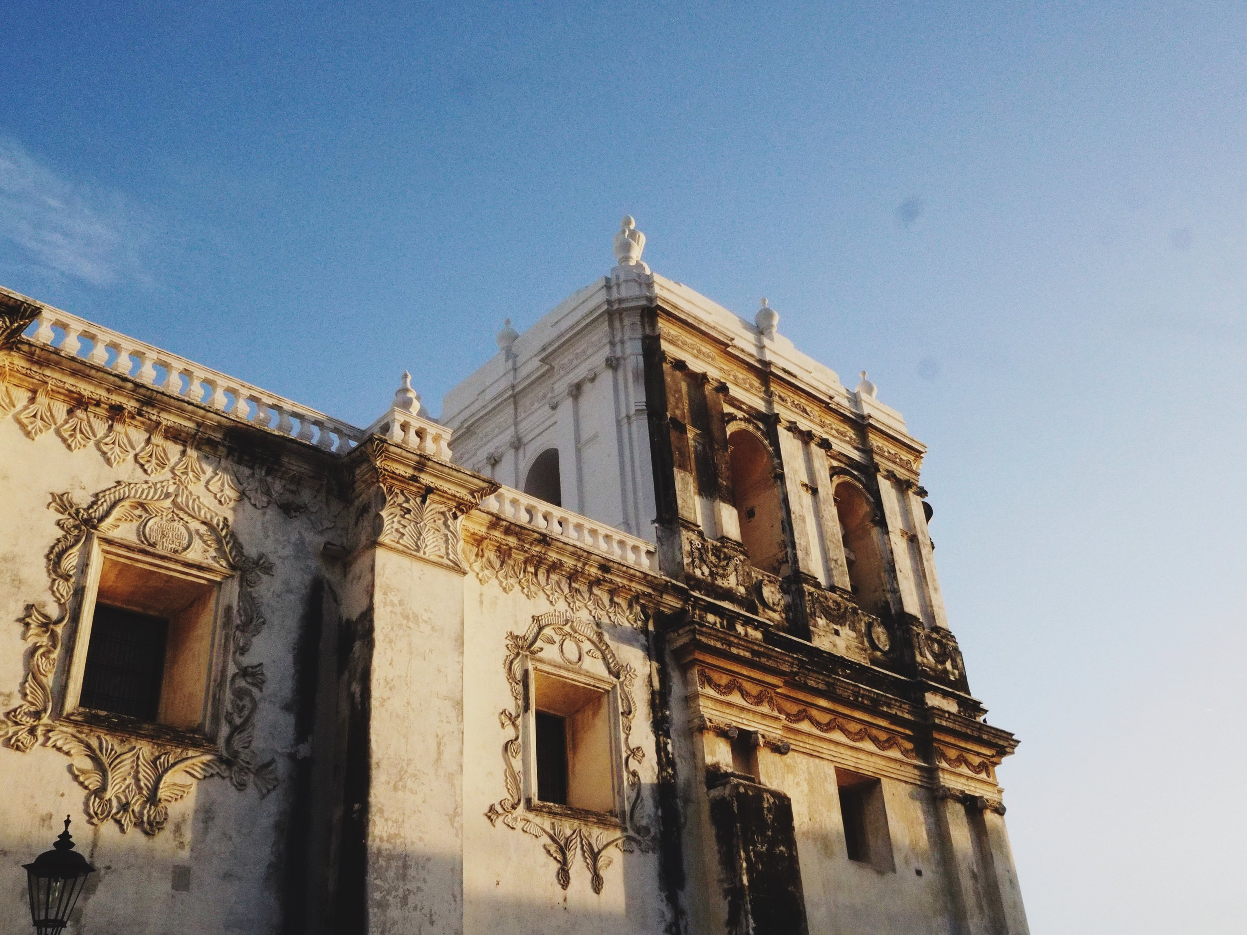 We arrived at golden hour and were immediately struck by the city's extraordinary architecture