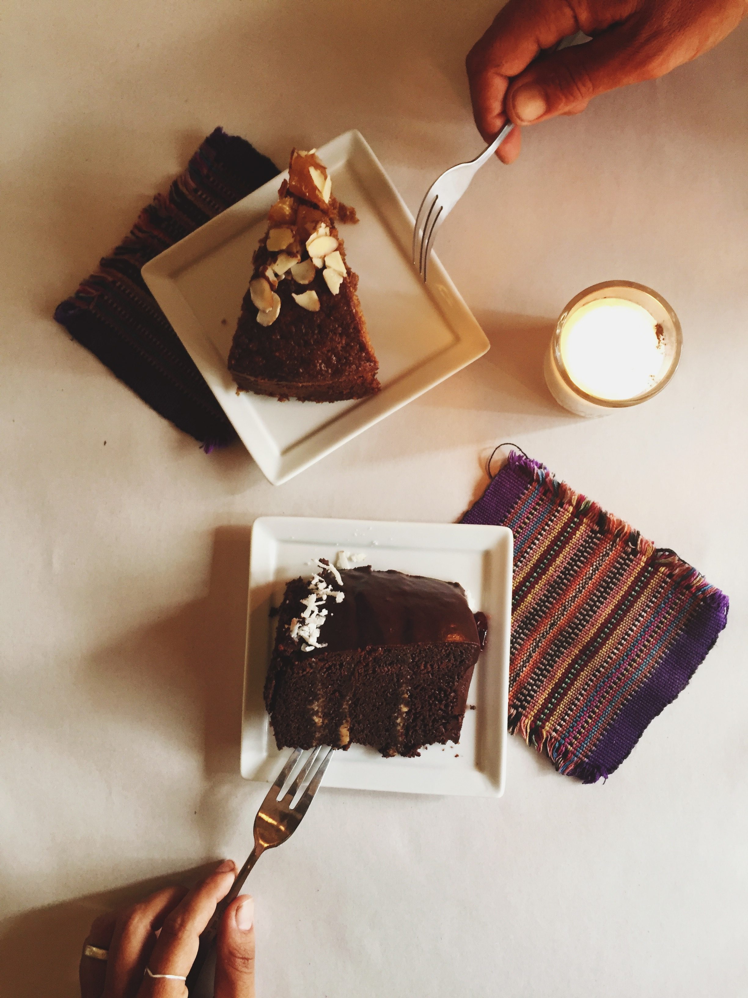 We of course were thrilled to find an organic health food store, Ola Verde, stocked with delicious local produce and offering incredible gluten free and vegan desserts!
