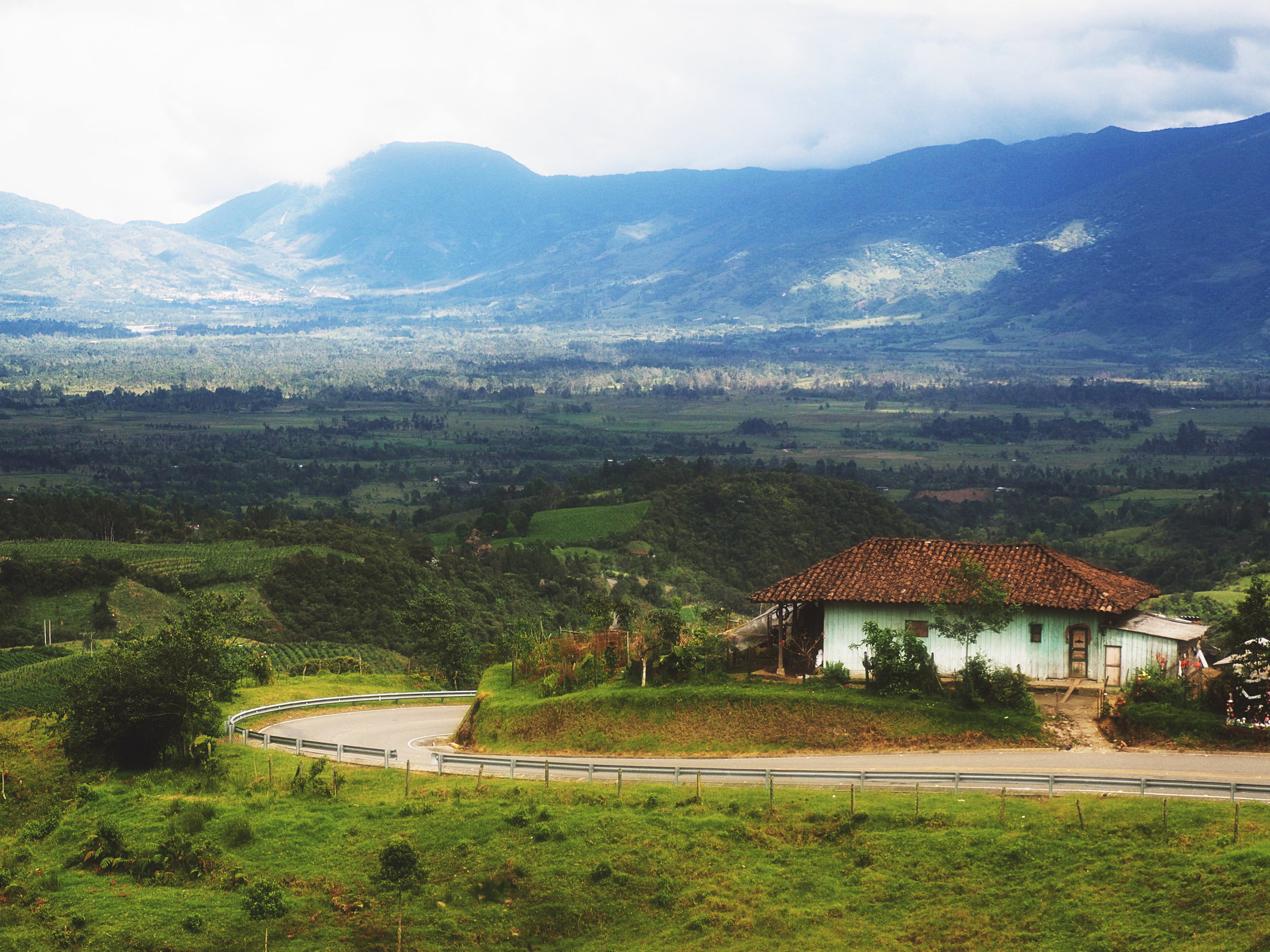 THE SIBUNDOY VALLEY, COLOMBIA -