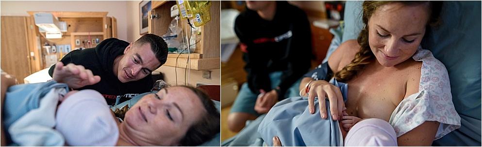 newborn birth photos