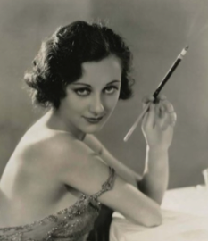 "Ann Dvorak (née Anna McKim) publicity still for ""Scarface"" Warner Bros. Pictures 1932"