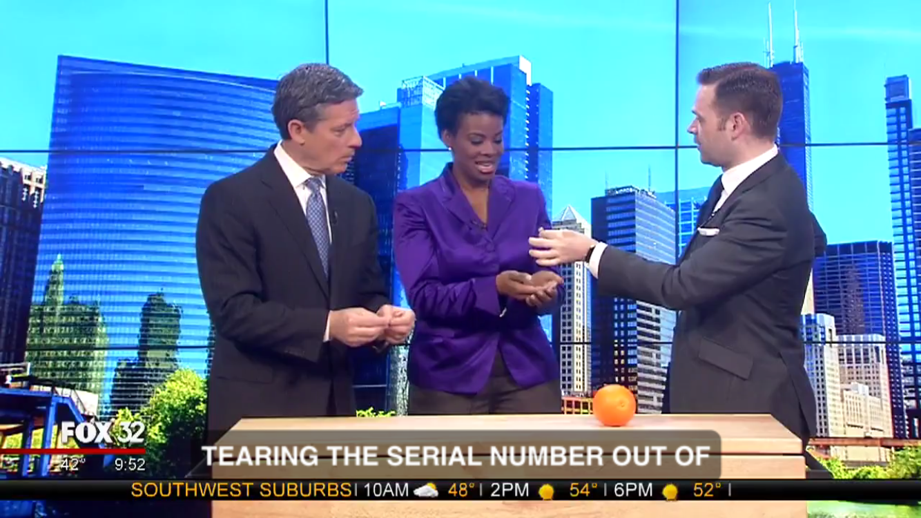 Click the image to watch Dennis Watkins on Fox 32 Chicago