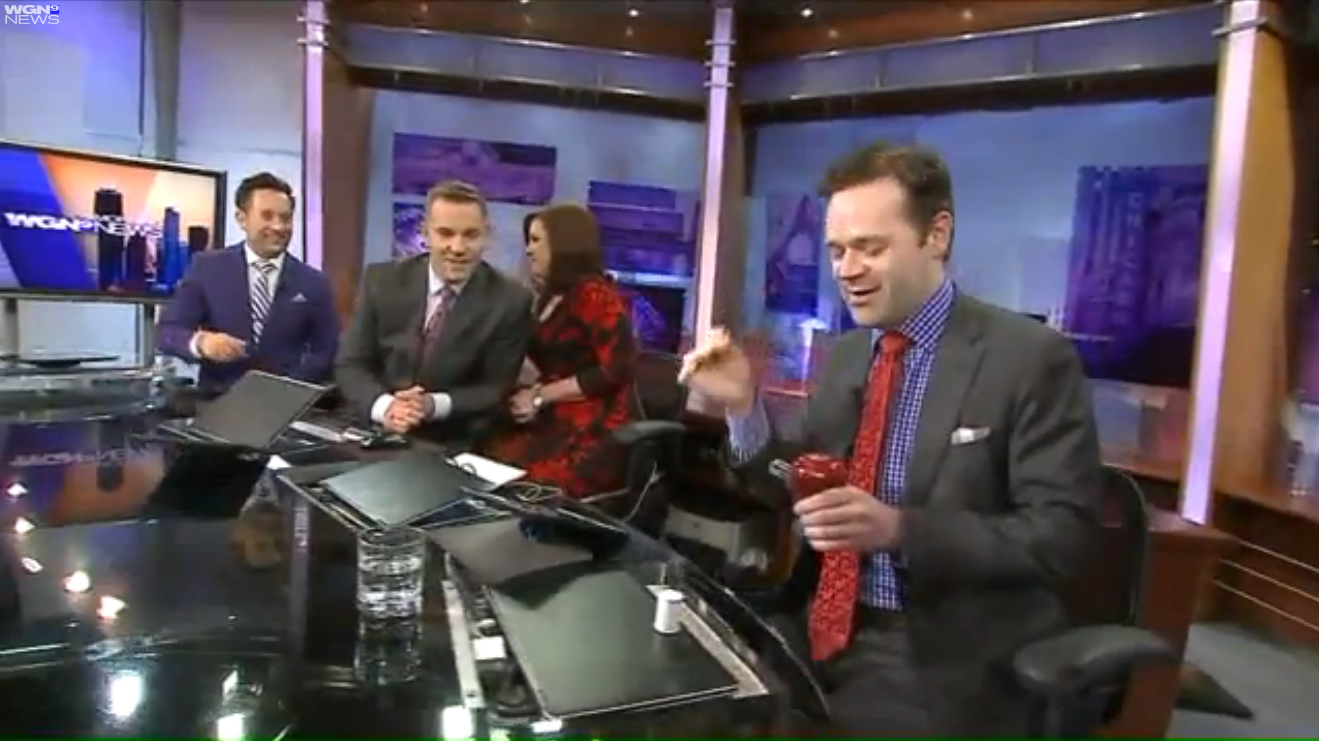 Click the image to see Dennis on WGN Morning News