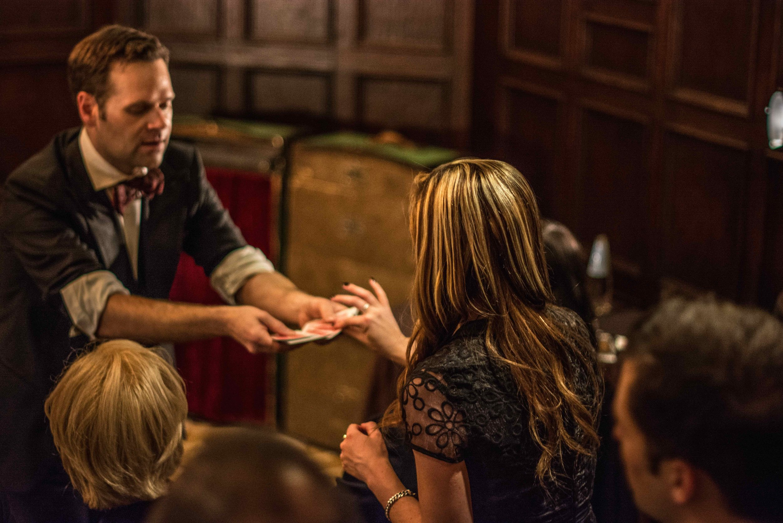 Magician for company events