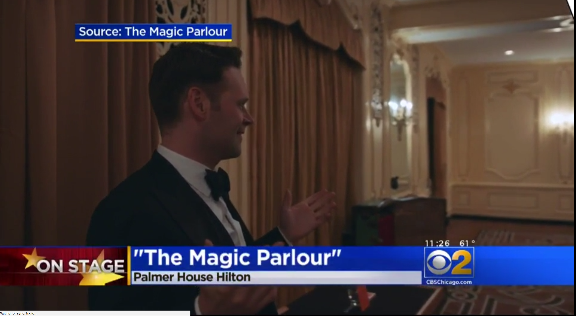 Click to see The Magic Parlour on CBS Chicago