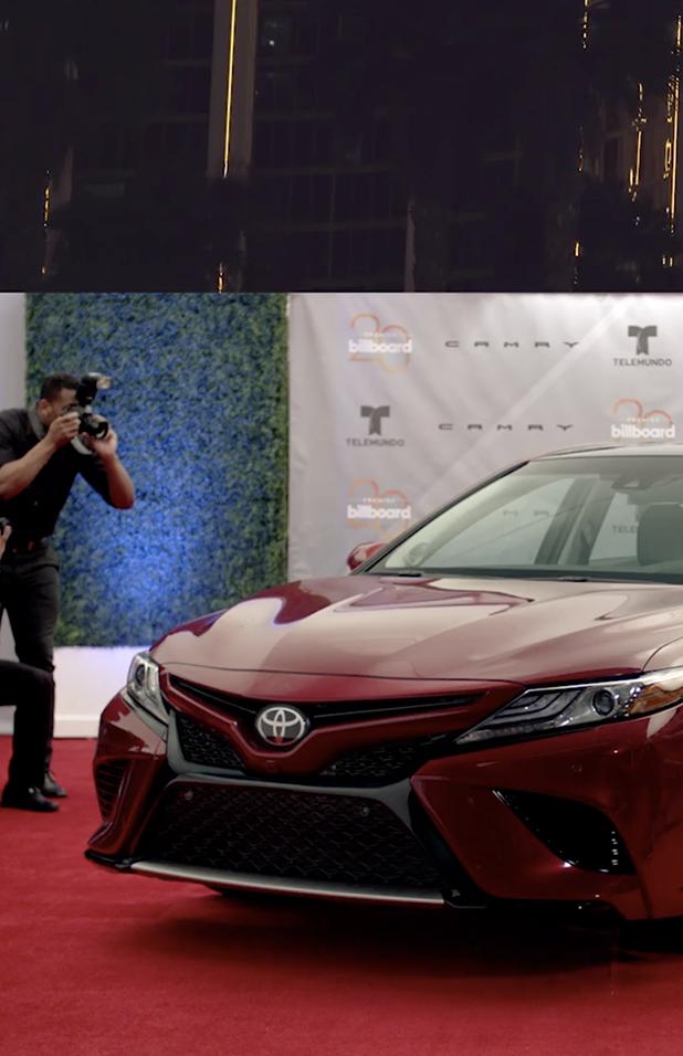 "Toyota Camry/Billboard Awards ""Sensations"" Commercial   Production design by Dori Desfaugeres"
