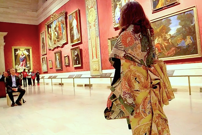 'Transformation Cloak' for 'Sonic Blossom', Museum of Fine Arts, Boston, permanent collection.