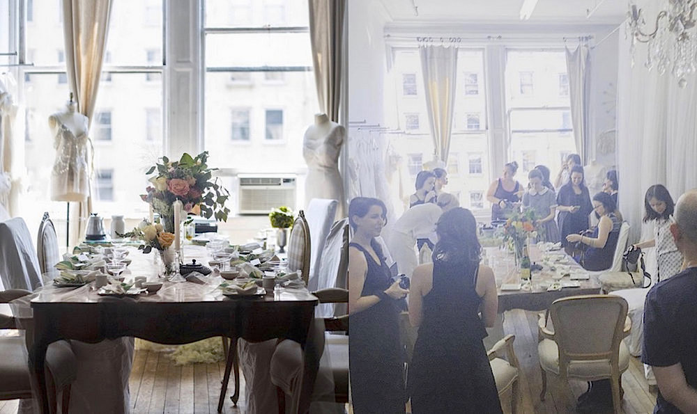 An event I produced and held at my Soho NY atelier with influential #girlboss bloggers and authors.