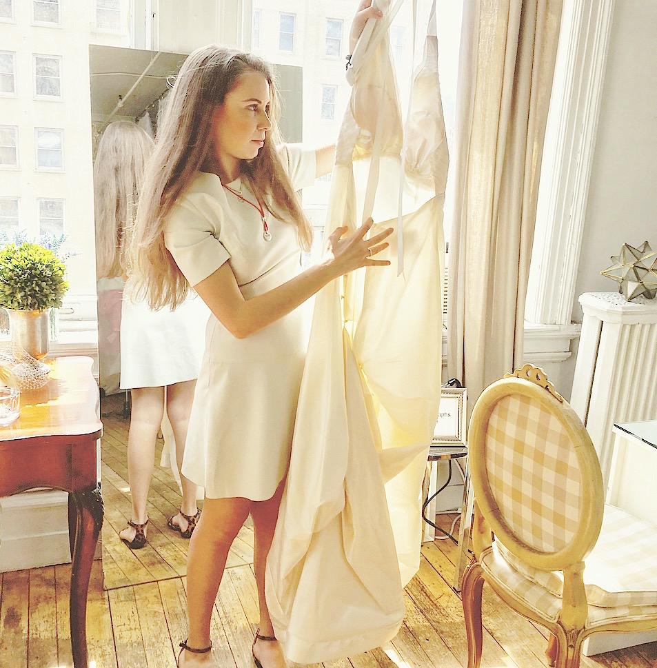 Custom wedding dresses by indie designer Kelima K